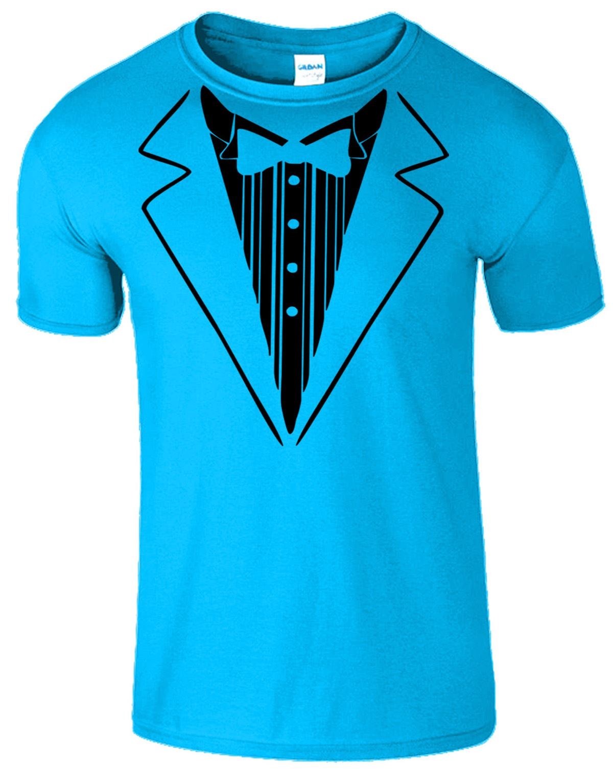Tuxedo Suit Bow Tie Kids Funny Joke fancy Dress T SHIRT WEDDING STAG ...