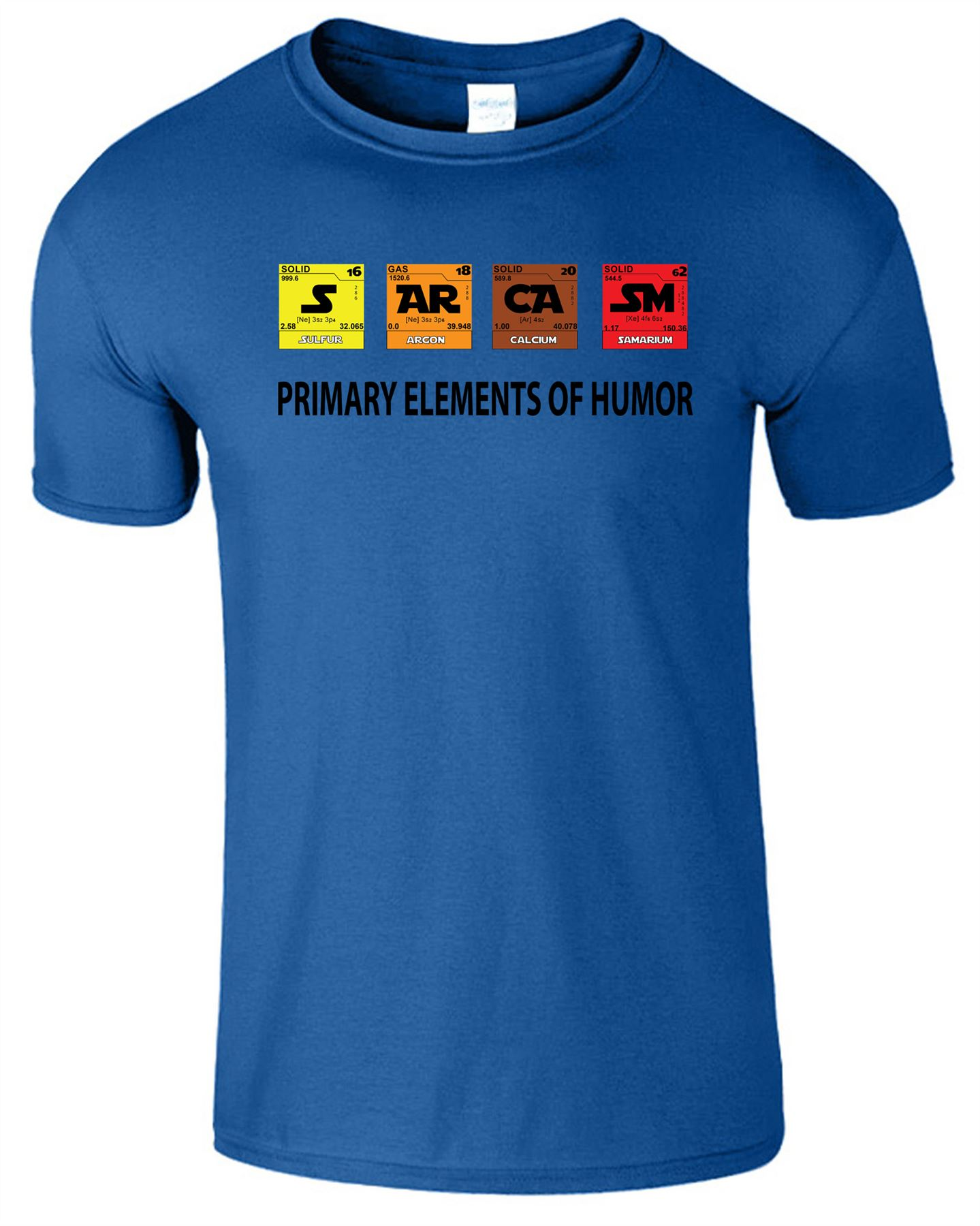Sarcasm Mens Kids Tshirt Periodic Table Elements Of Humour Funny Tshirt Joke Tee And To Have A Long Life. Shirts