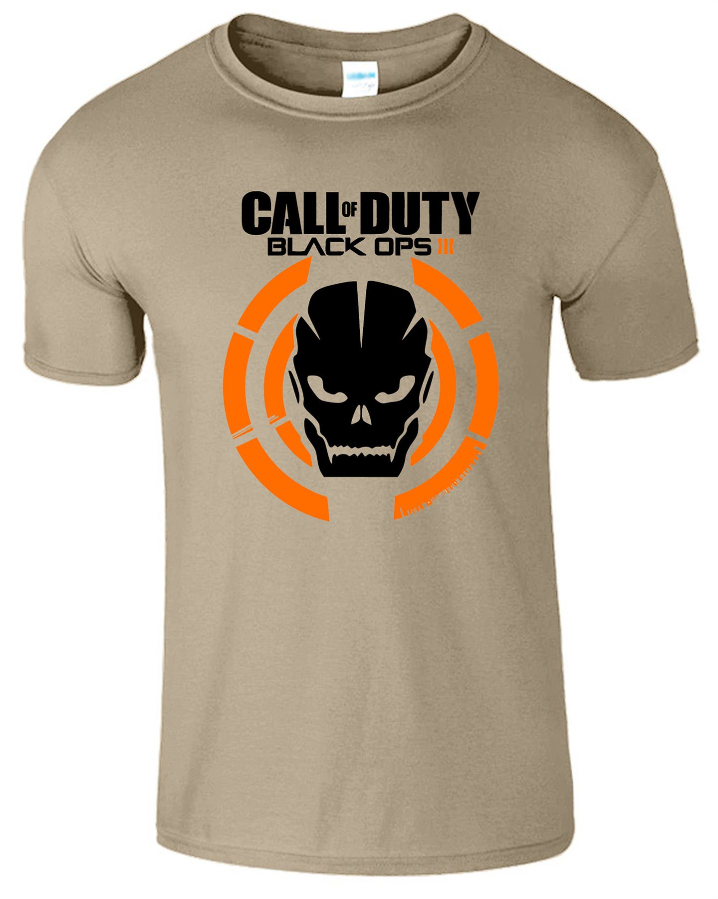 Duty-Black-Ops-Xbox-PS3-PS4-Game-Logo-With-Skull-Mens-Tshirt-Tee-Top-Gift miniatuur 13