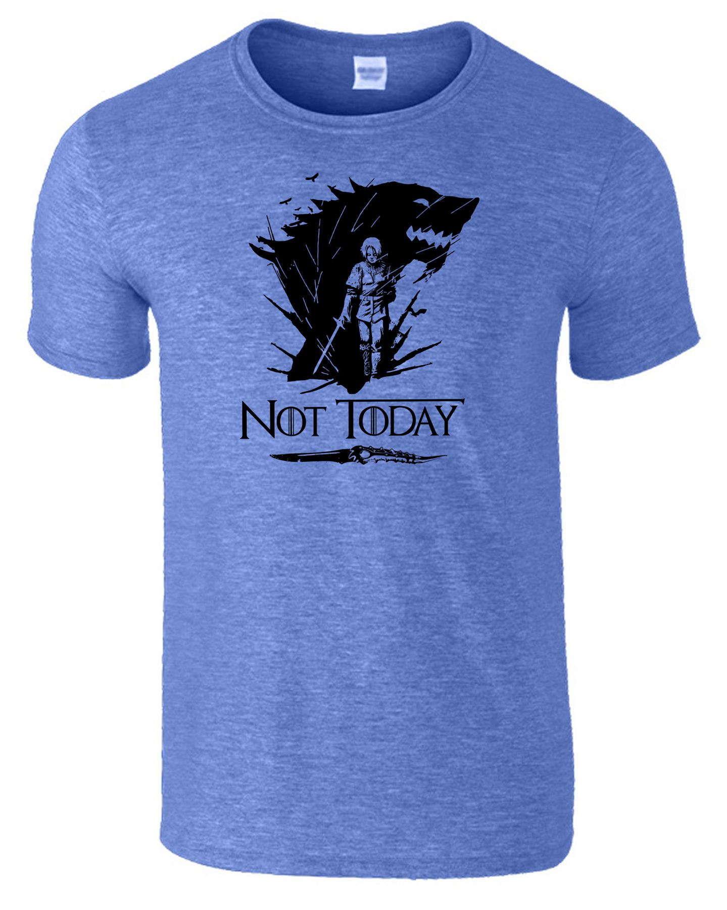 Arya-Stark-Not-Today-T-Shirt-Mens-Game-Season-Womens-Shirt-Adults-Unisex-Fit Indexbild 20
