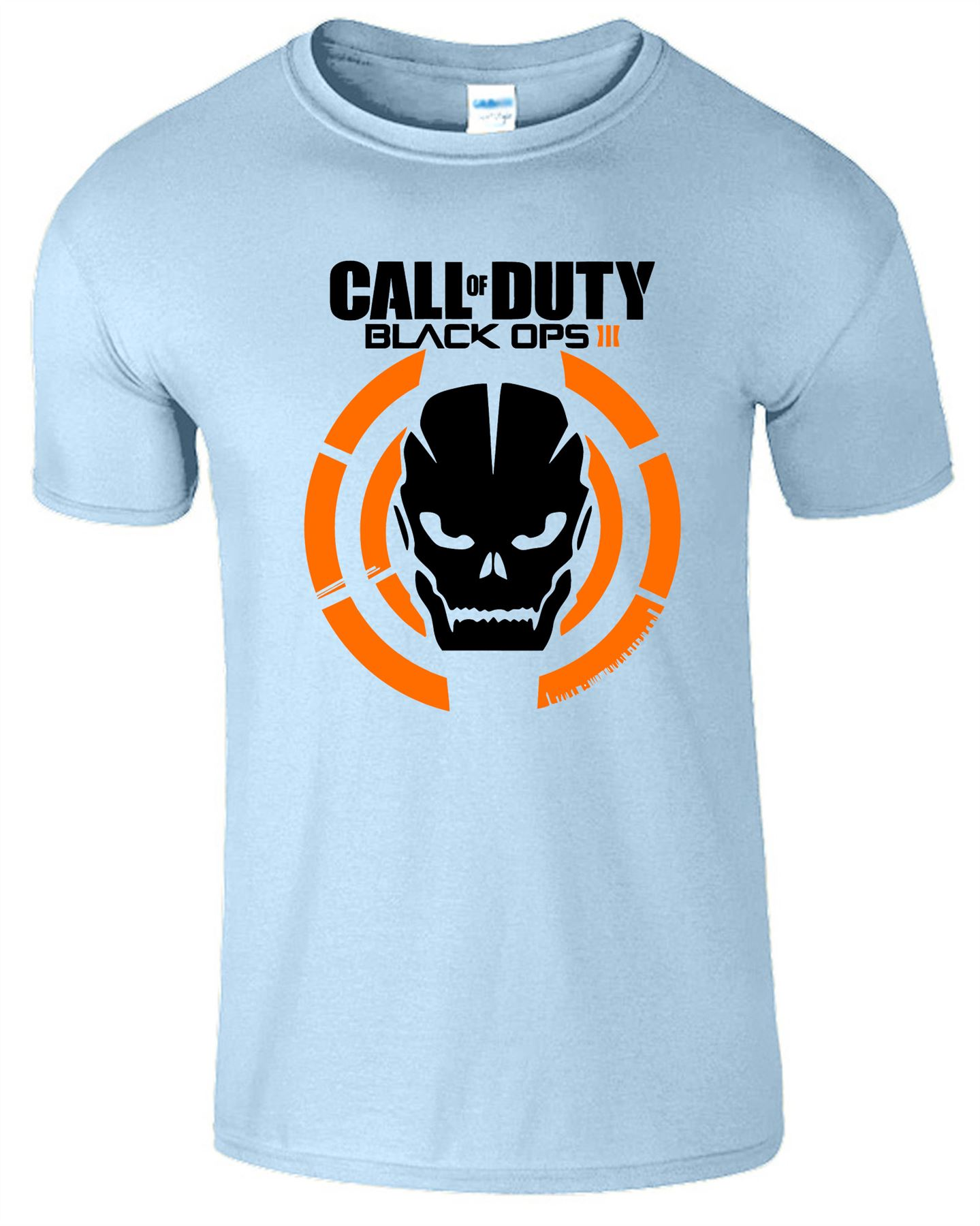 Duty-Black-Ops-Xbox-PS3-PS4-Game-Logo-With-Skull-Mens-Tshirt-Tee-Top-Gift miniatuur 5