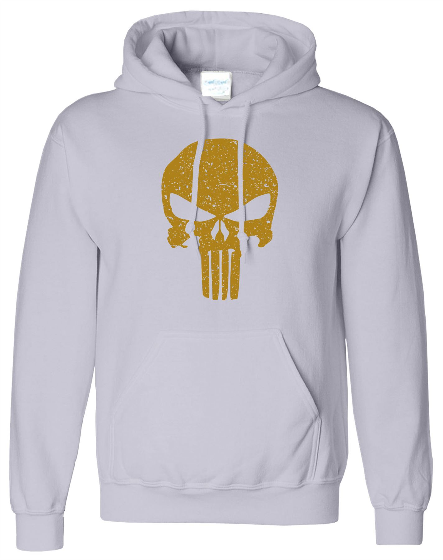 Punisher The Skull Mens Hoodie Bodybuilding Training Workout Pullover Top Hoody