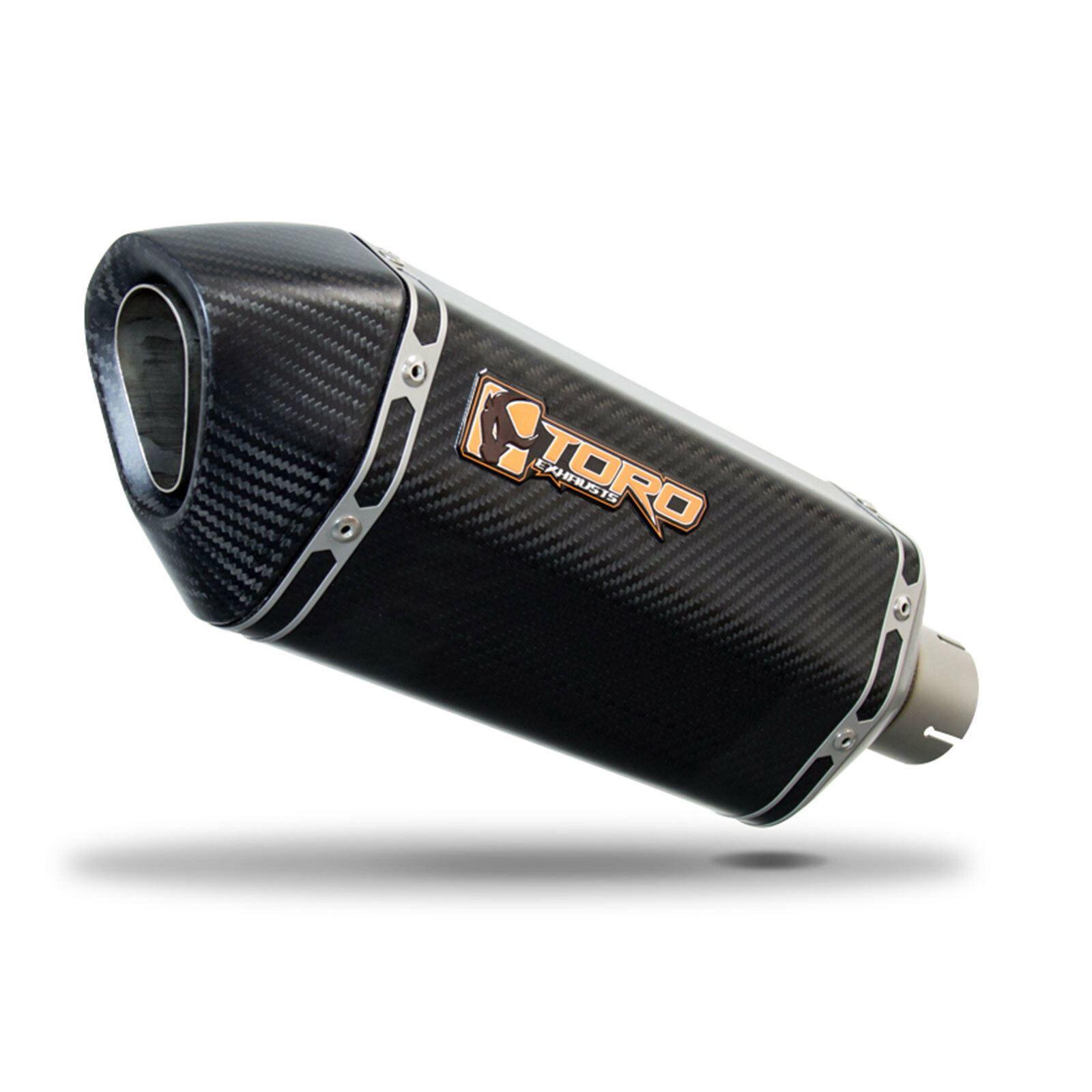 Toro 51mm Universal Slip On Hex Matt Carbon Fibre Motorcycle Exhaust Silencer 5056149000109 Ebay