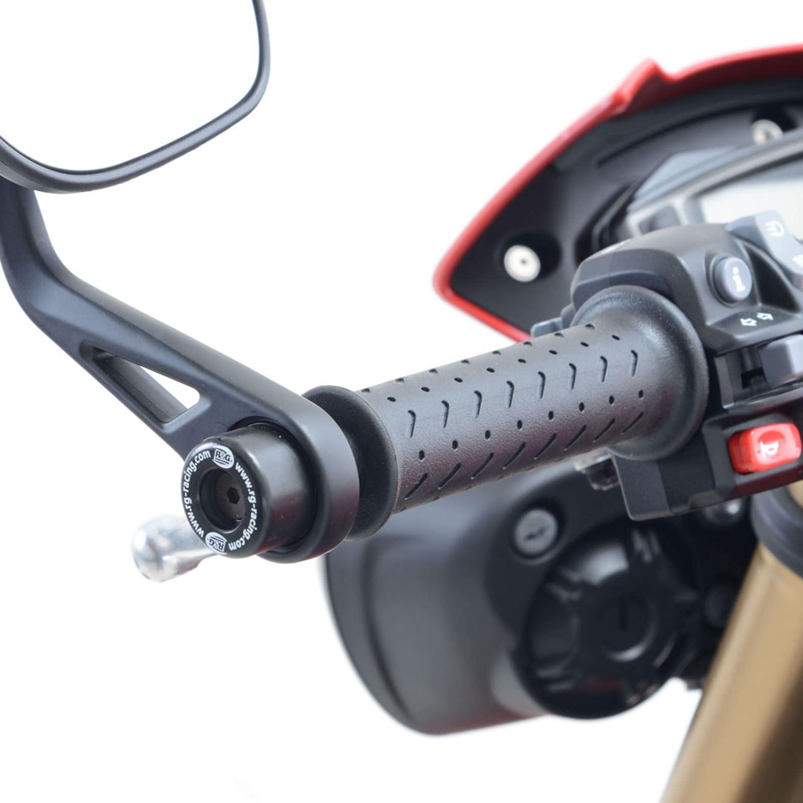 R/&G Racing bar End Sliders Triumph Speed Triple S 16-//Speed Triple R 16-//Thruxton 1200//1200R