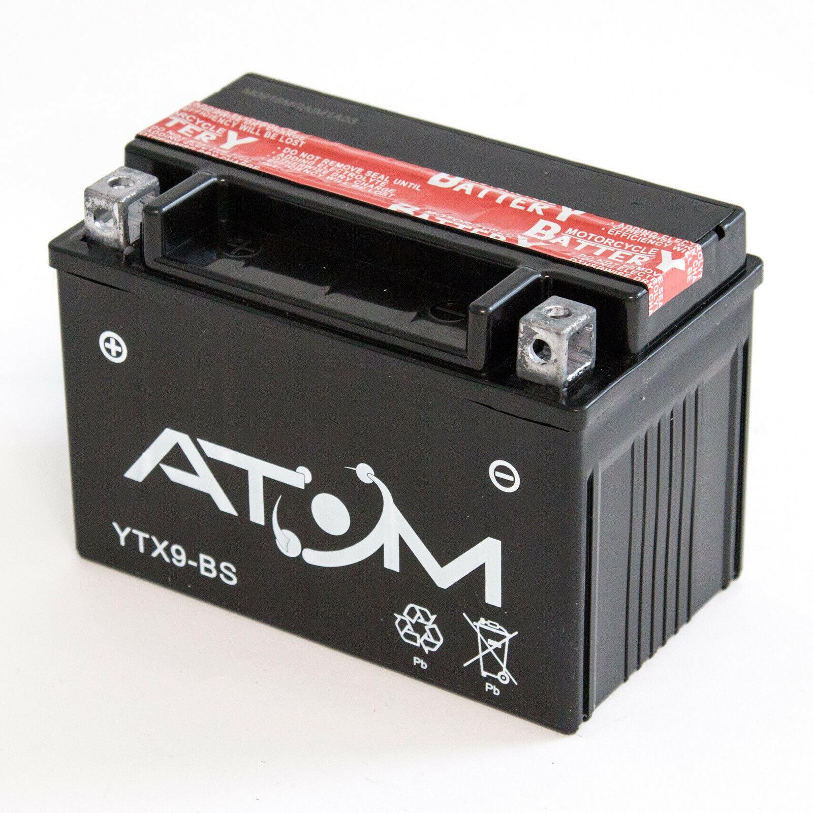 JMT Lithium Ionen Batterie YTX9-BS Honda NTV 650 Revere
