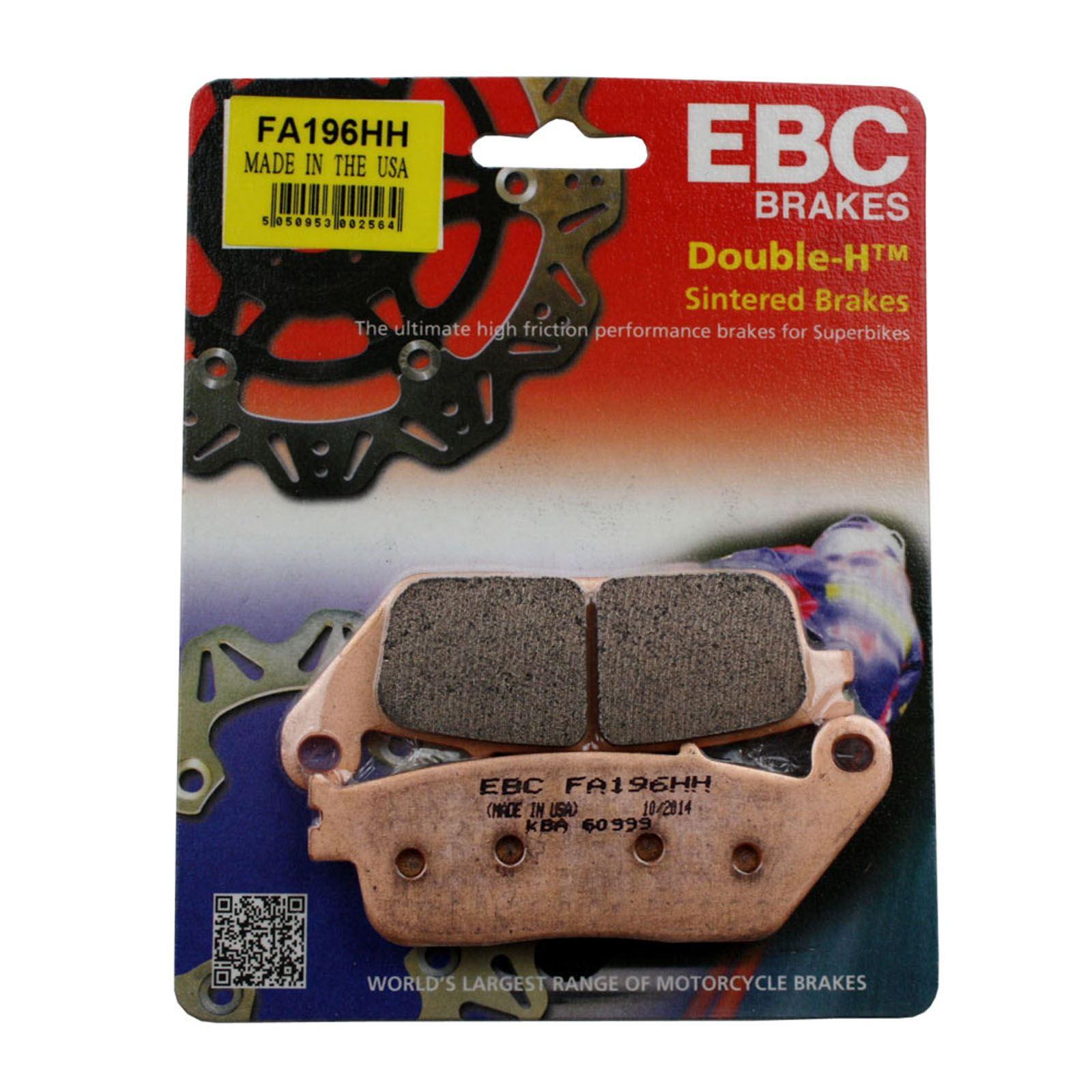 EBC Brakes FA193HH Sintered Copper Alloy Disc Brake Pad