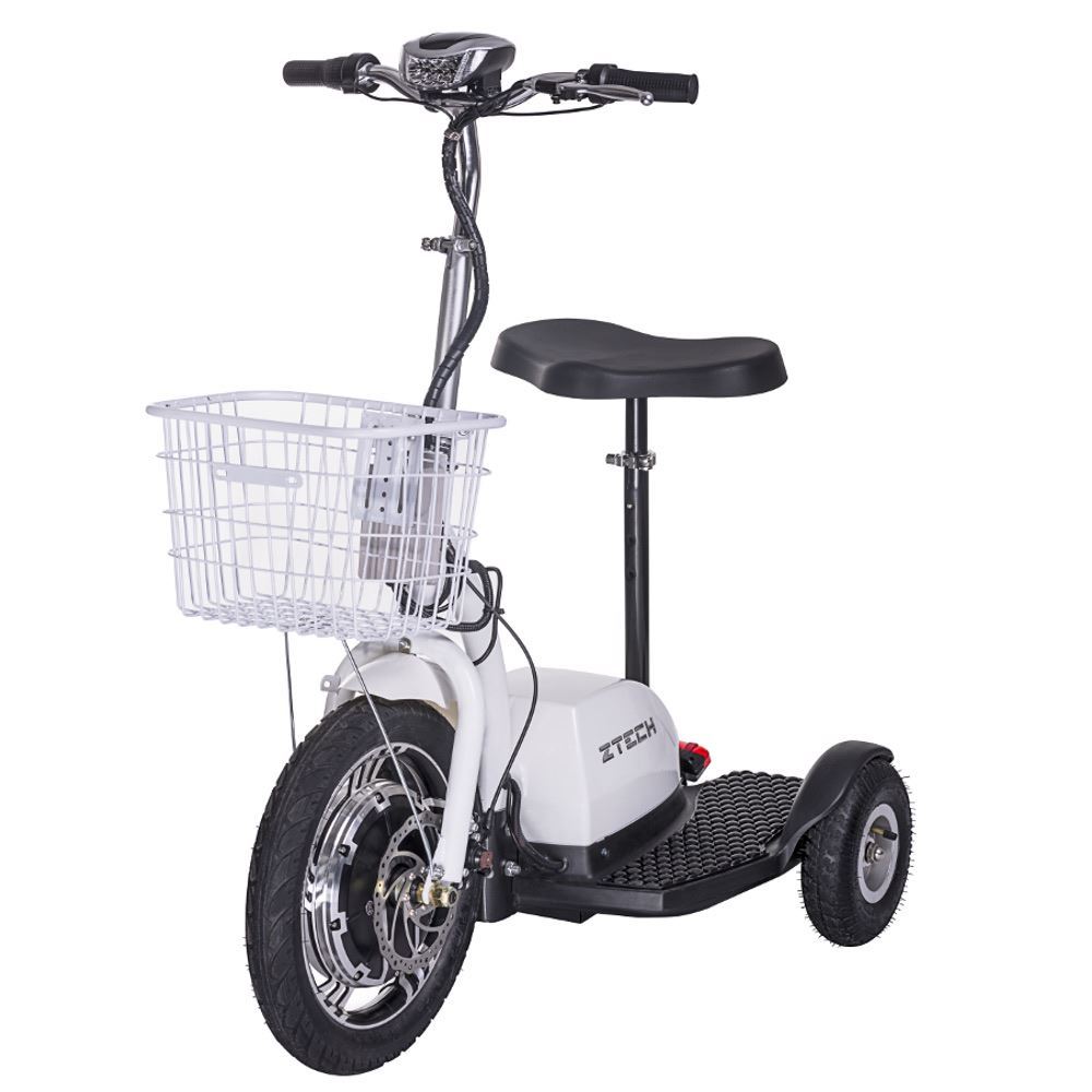 dreirad e scooter elektro roller mobility scooter 3 wheeler trike korb 16 km h ebay. Black Bedroom Furniture Sets. Home Design Ideas