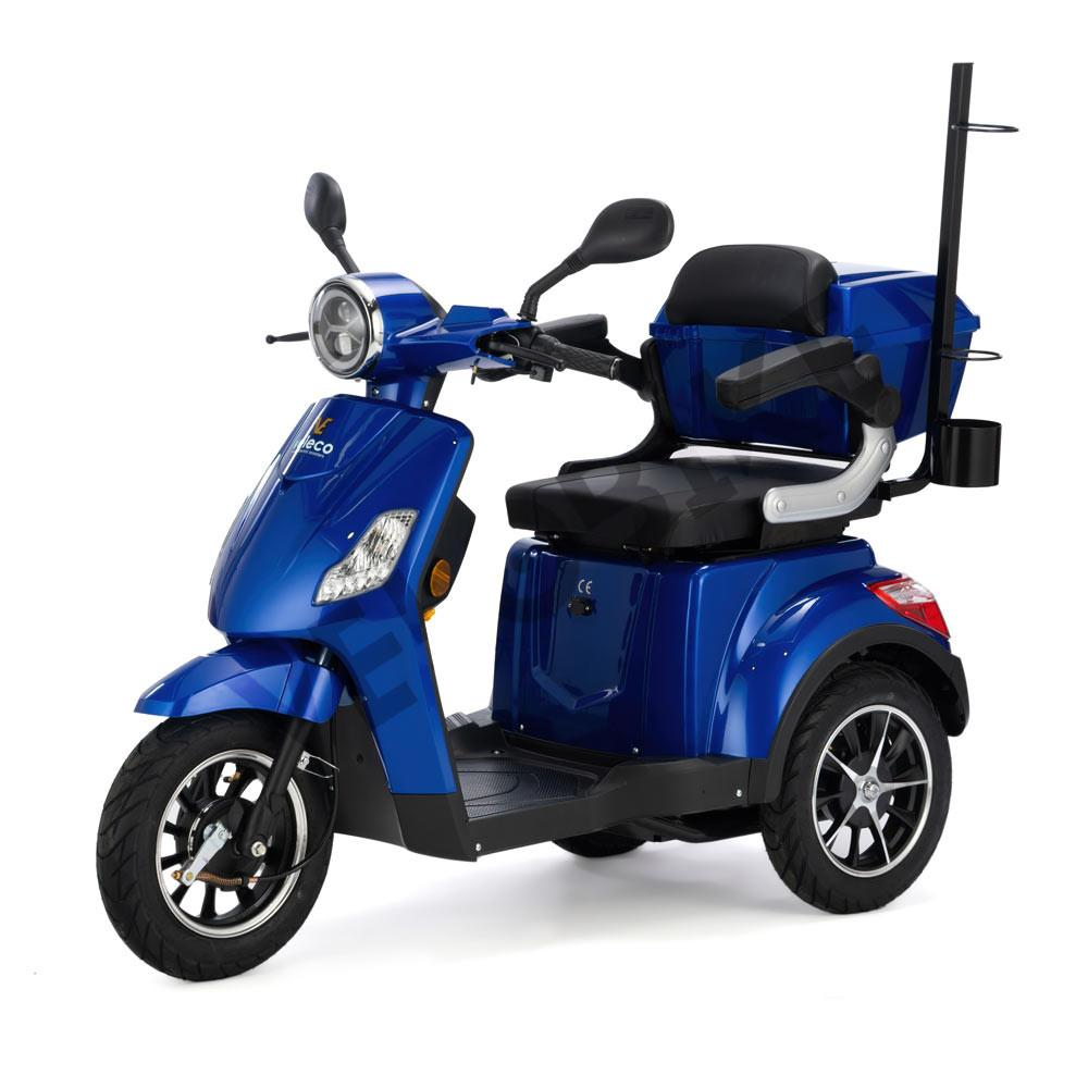 thumbnail 5 - ELECTRIC MOBILITY SCOOTER 3 Wheeled VELECO DRACO 4 colours
