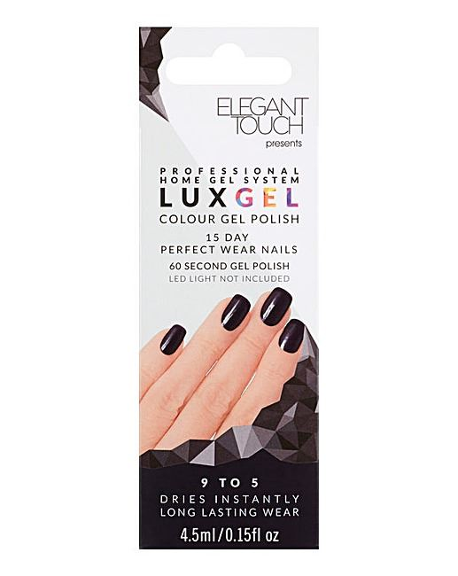 Elegant Touch Lux Gel 15 Day Perfect Wear Nail Polish - 9 to 5 ...