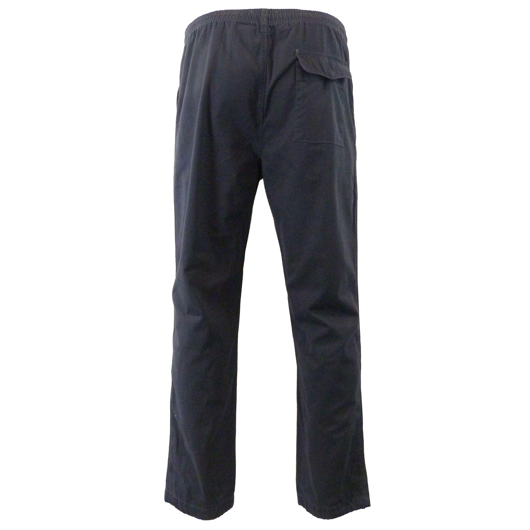 Ex-M-amp-S-Marks-and-Spencer-Coleccion-Regular-Fit-puro-algodon-Chinos-Pantalones miniatura 7