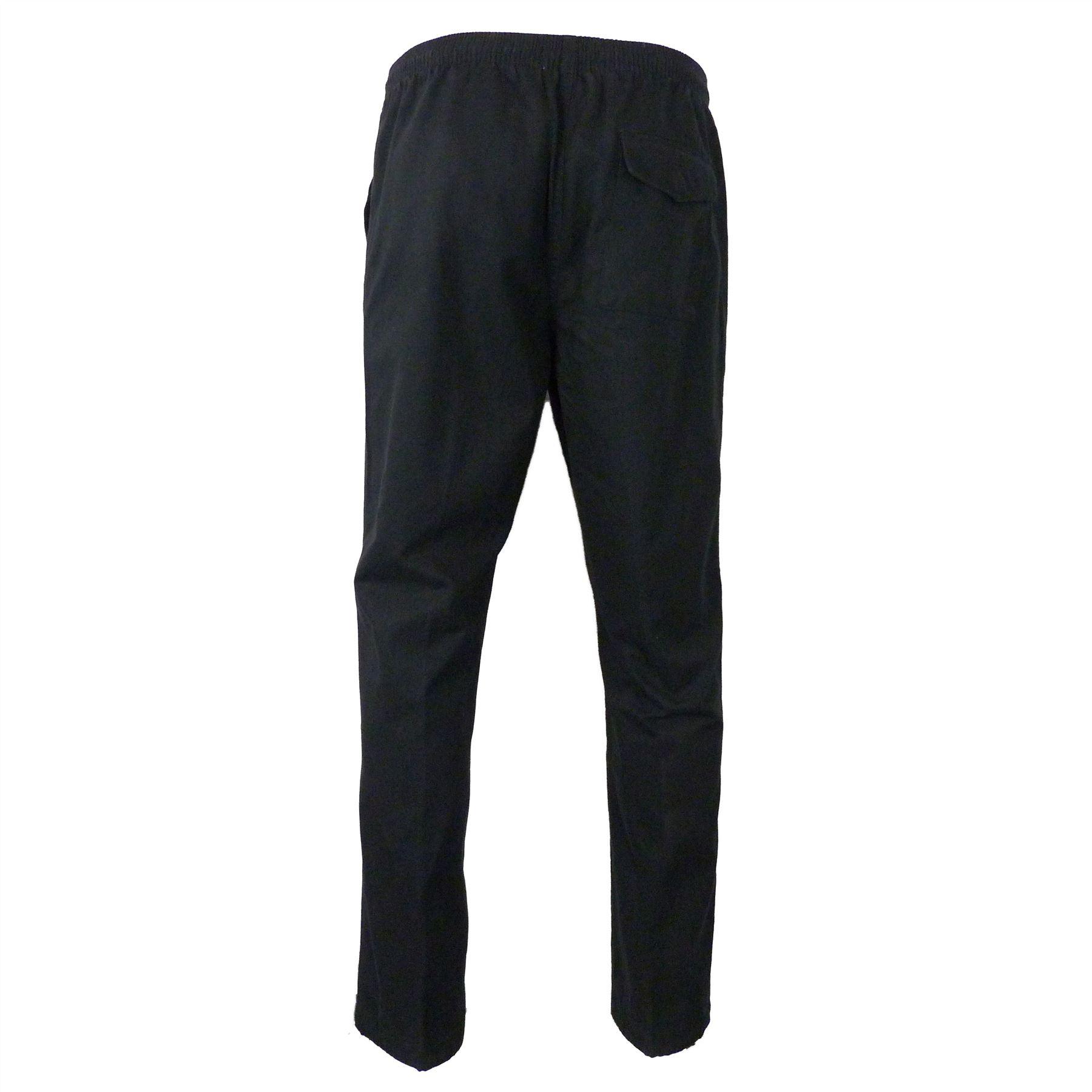 Ex-M-amp-S-Marks-and-Spencer-Coleccion-Regular-Fit-puro-algodon-Chinos-Pantalones miniatura 3
