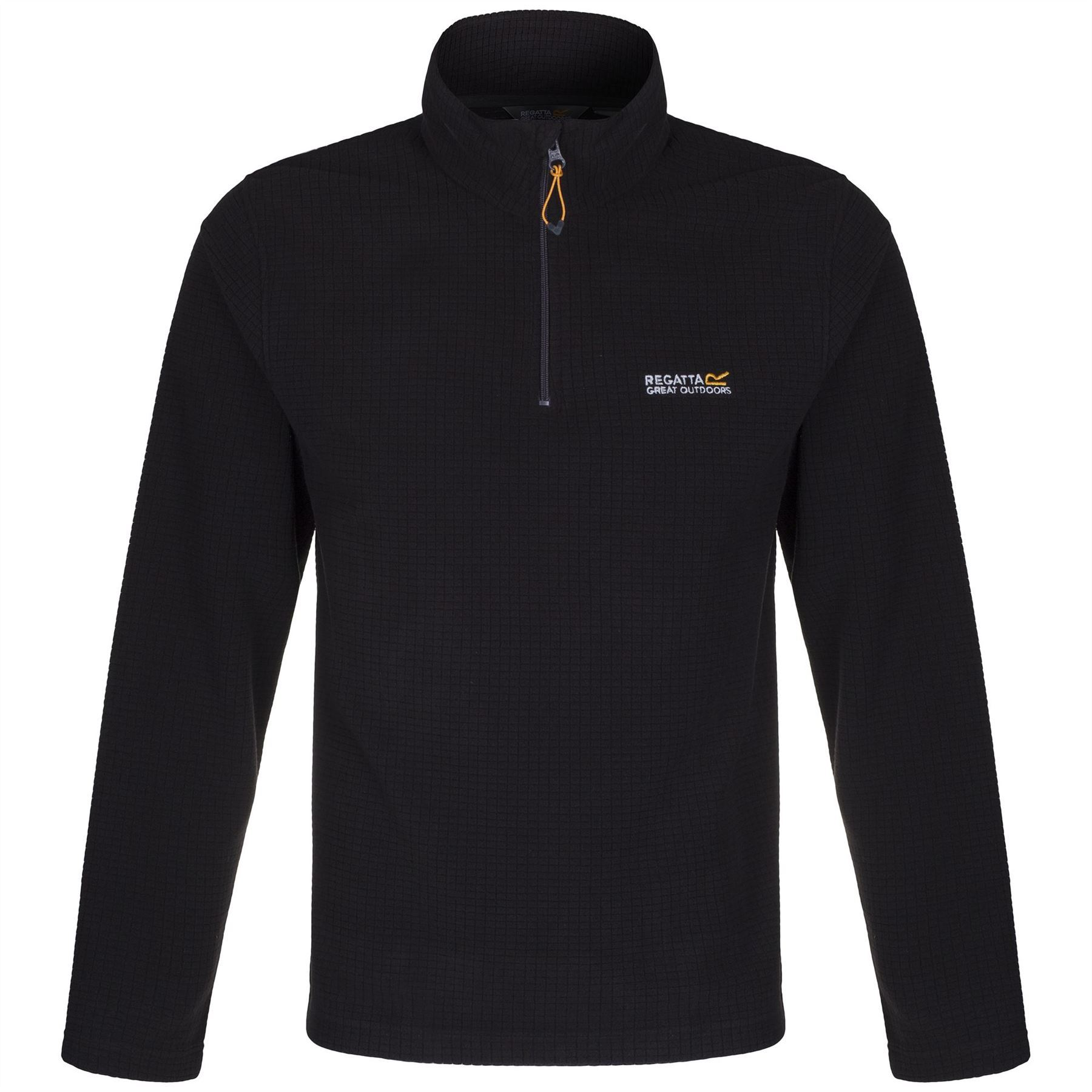 Regatta-Elgon-para-hombre-Half-Zip-Fleece-Pullover-Jumper-Top-RMA236 miniatura 7