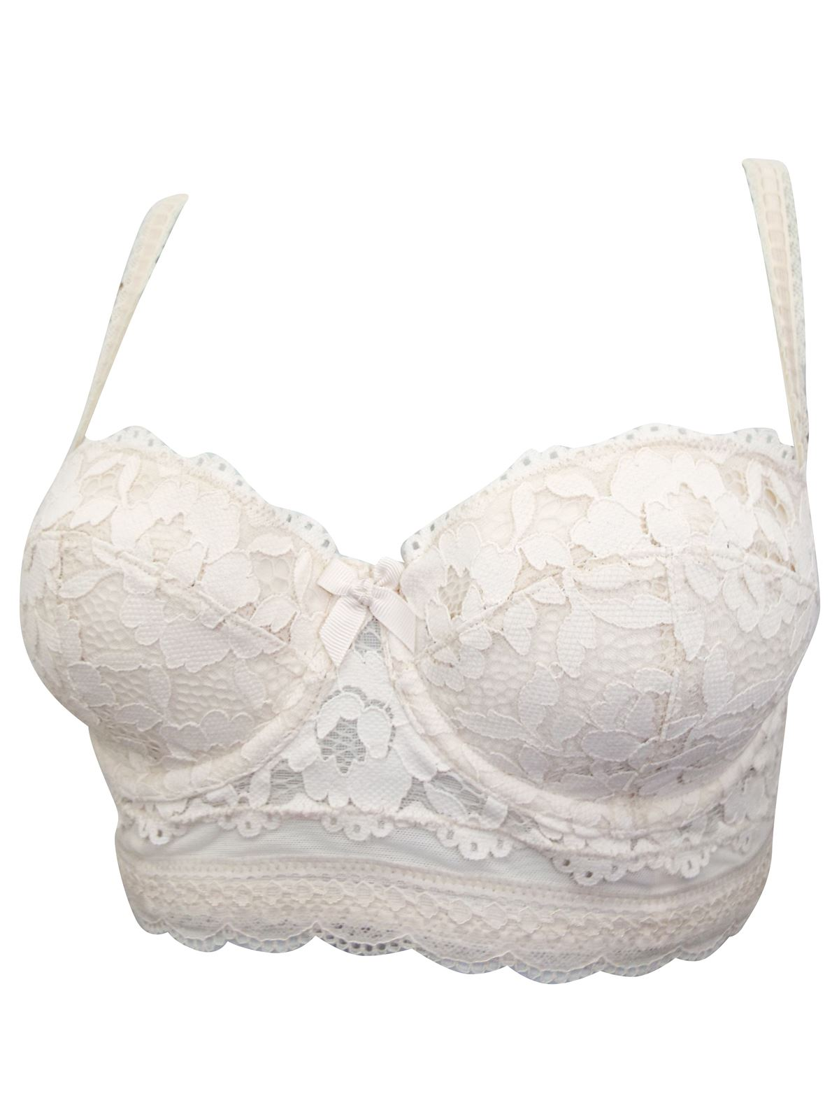 Ex-M-amp-S-Marks-And-Spencer-Lightly-Padded-Lace-Longline-Balcony-Bra thumbnail 7
