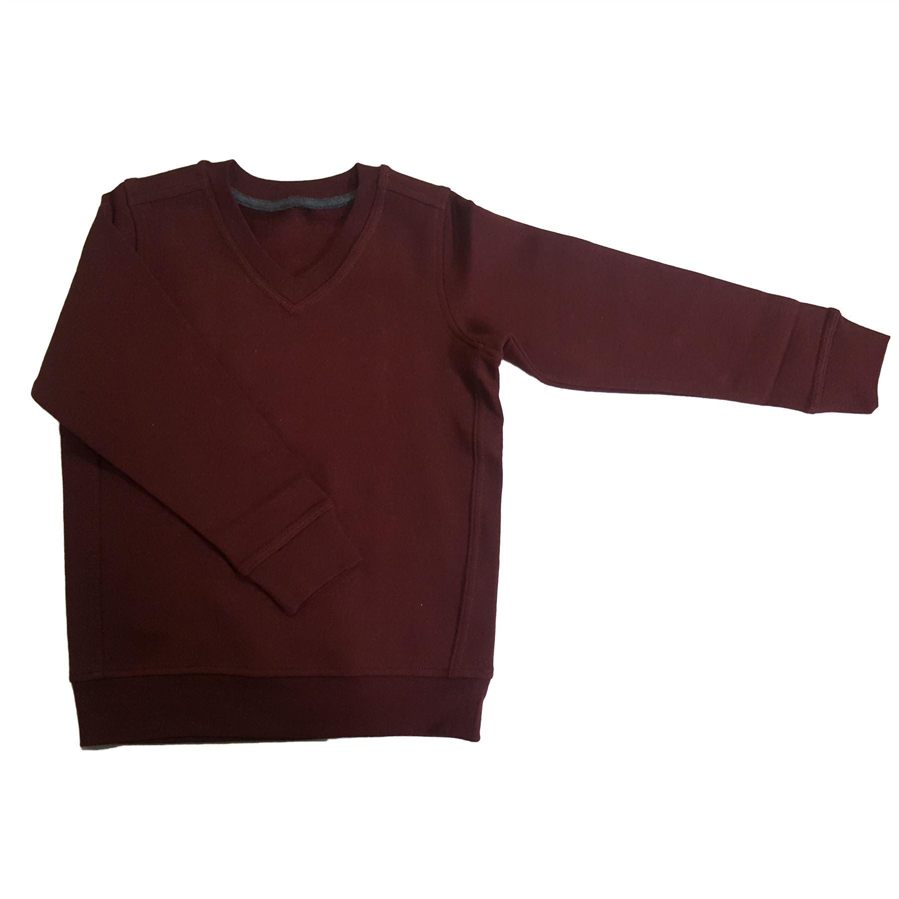 EX M/&S Marks And Spencer Kids Childrens School Uniform V Neck Jumper Sweatshirt