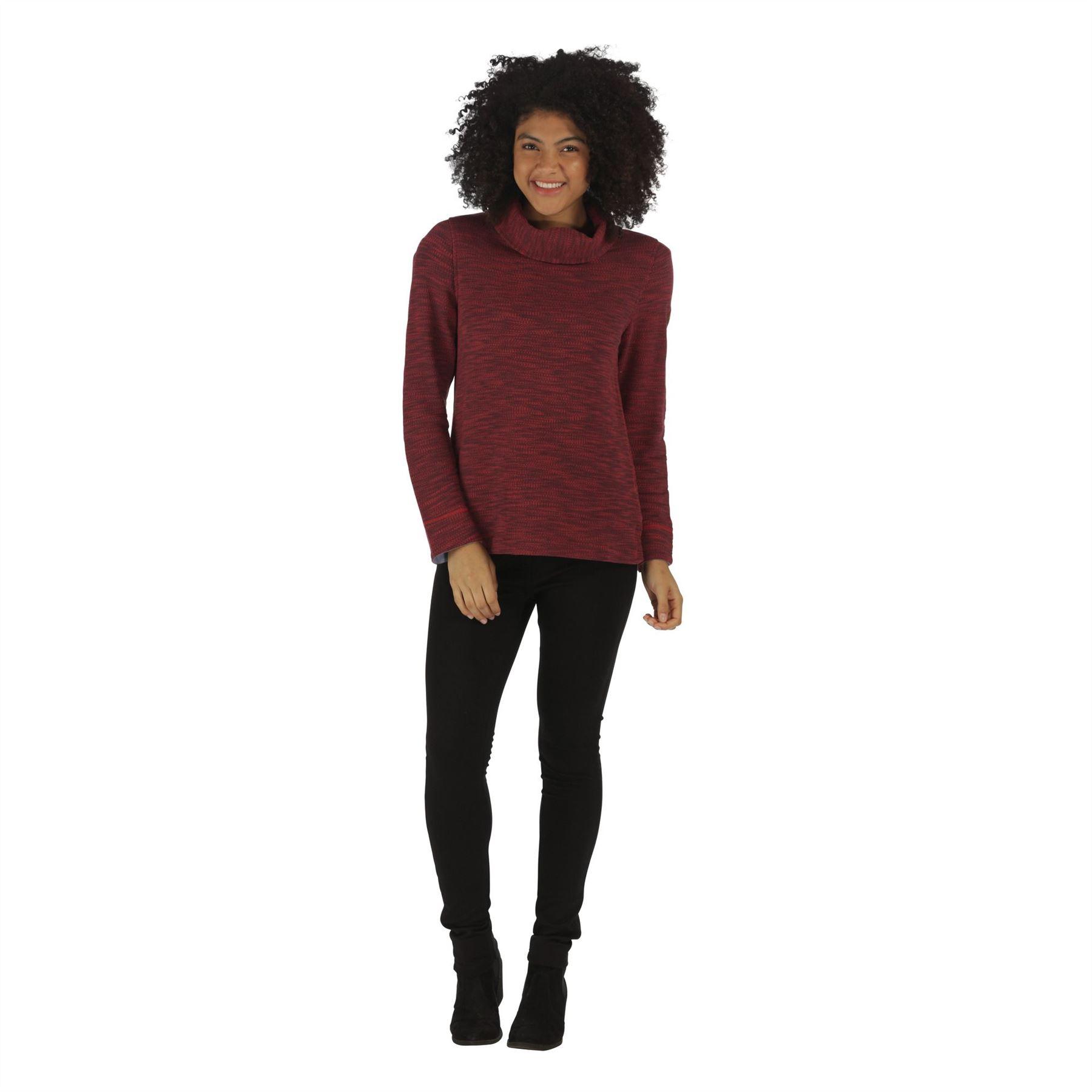Regatta-Ceanna-Cowl-Neck-Soft-Fleece-Pull-Over-Jumper-Sweater-Top-RWA276 thumbnail 10
