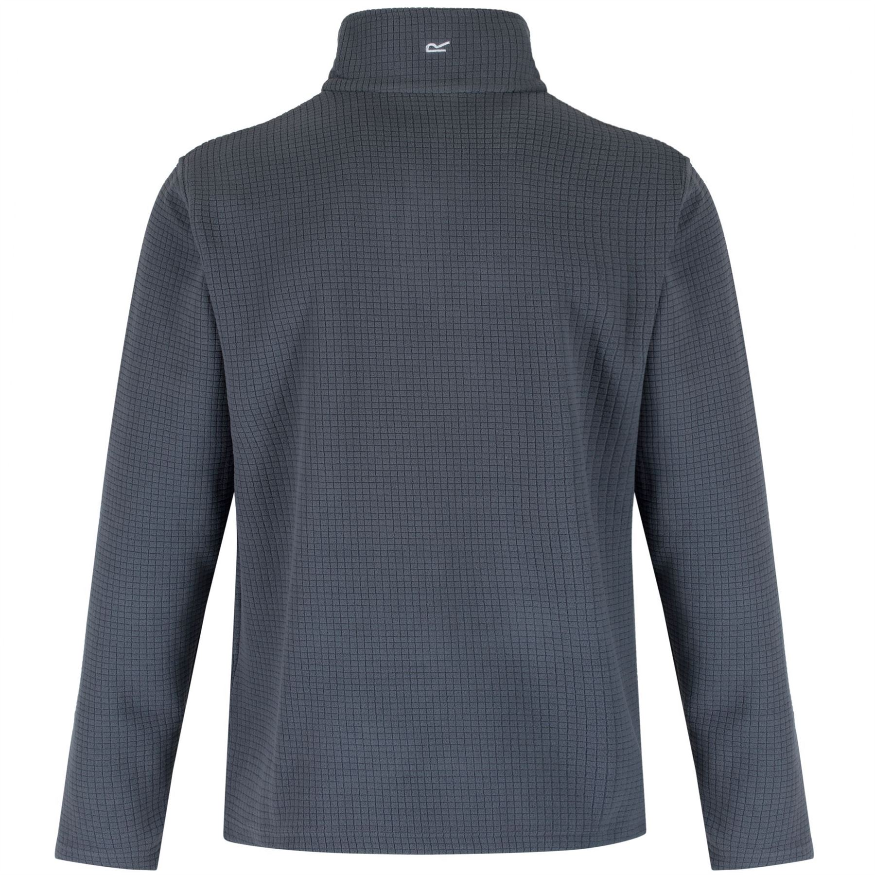Regatta-Elgon-para-hombre-Half-Zip-Fleece-Pullover-Jumper-Top-RMA236 miniatura 22