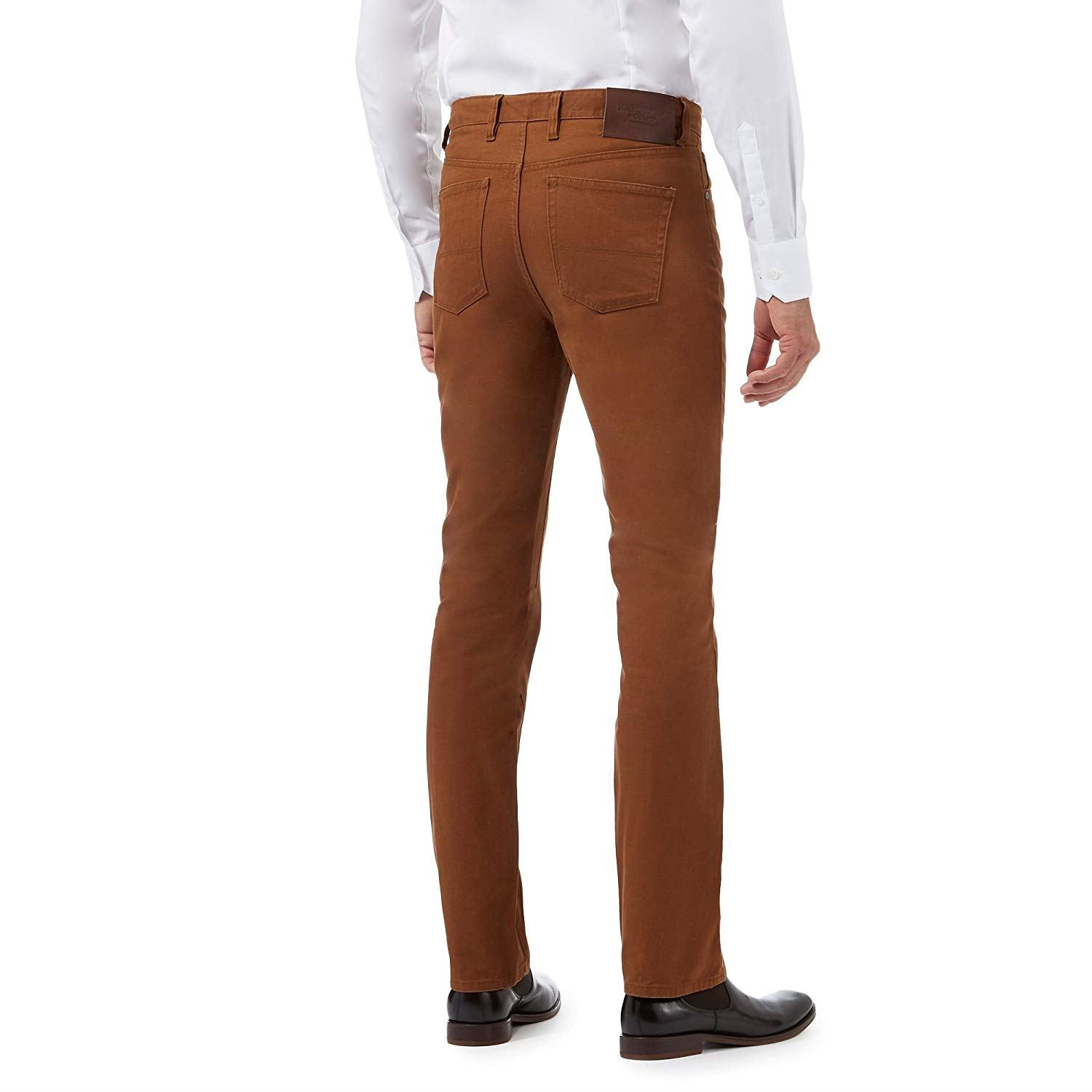 Hammond-amp-Co-By-Patrick-Grant-Twill-Trousers-Jeans thumbnail 3