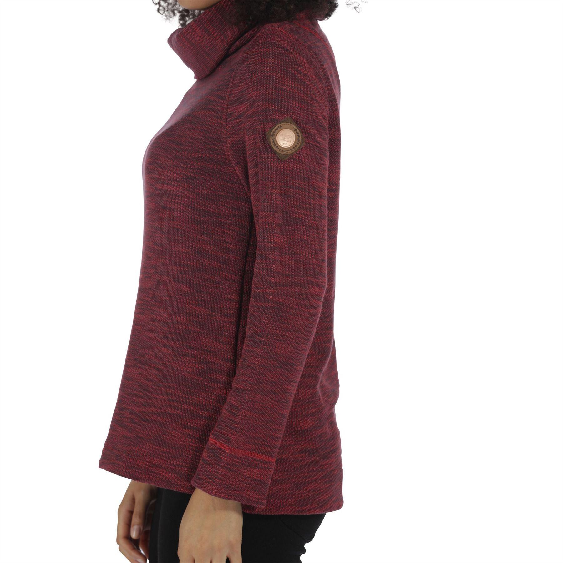 Regatta-Ceanna-Cowl-Neck-Soft-Fleece-Pull-Over-Jumper-Sweater-Top-RWA276 thumbnail 11