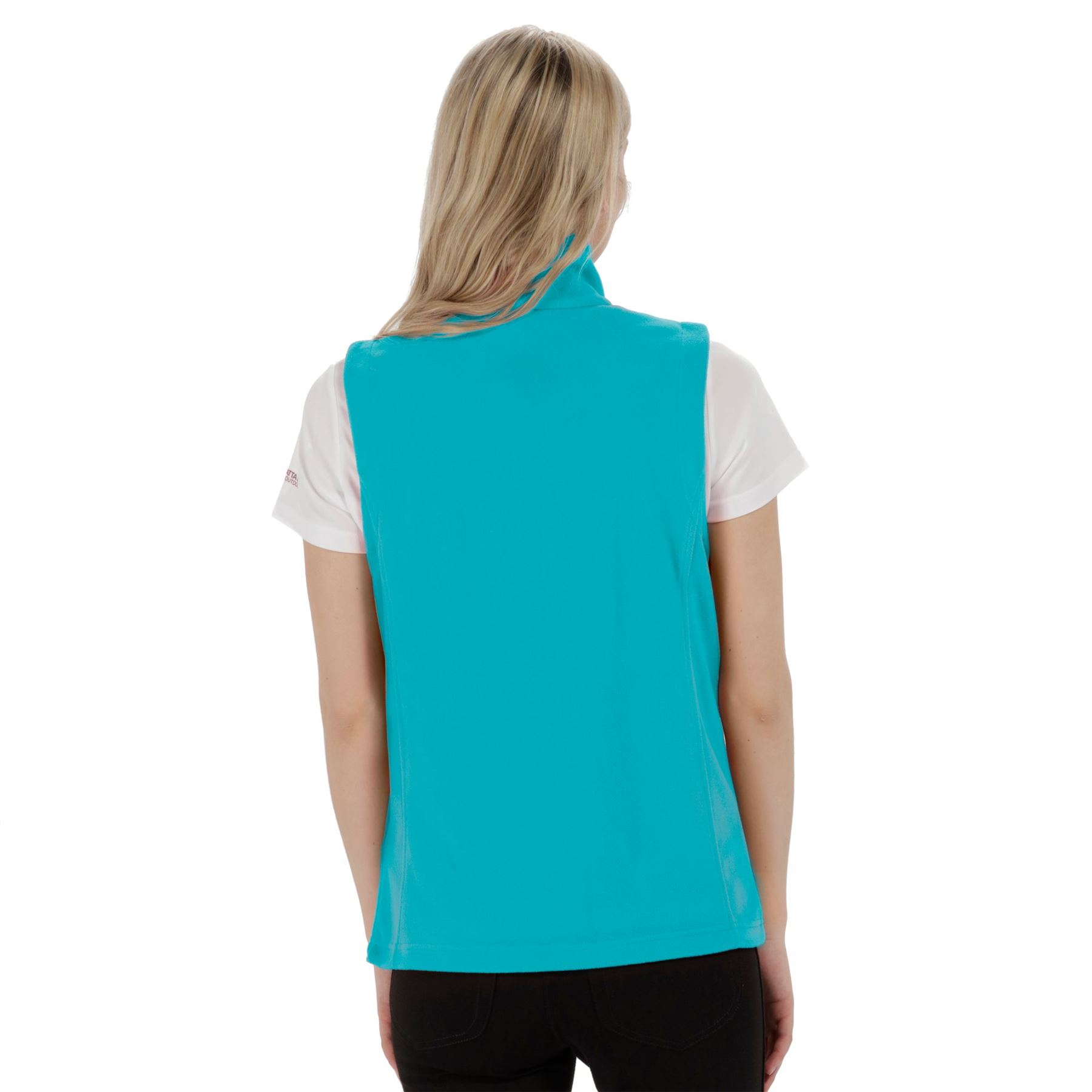 Regatta-Sweetness-II-RWB053-Full-Zip-Womens-Sleeveless-Bodywarmer thumbnail 7