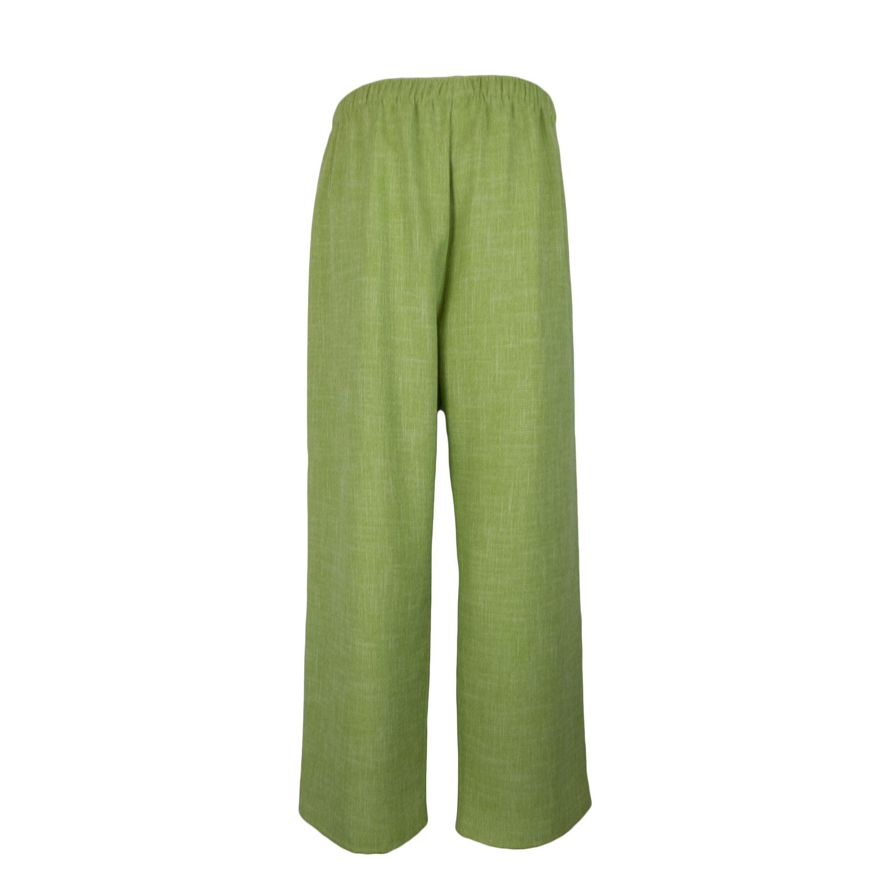 Saloos-Linen-Look-Trouser-Casual-or-Eveningwear-Elasticated-Waist thumbnail 15