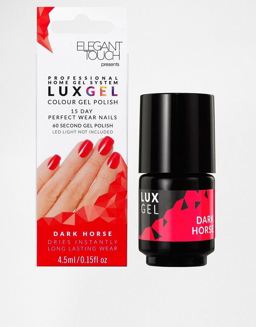 Elegant Touch Lux Gel 15 Day Perfect Wear Nail Polish - Dark Horse ...