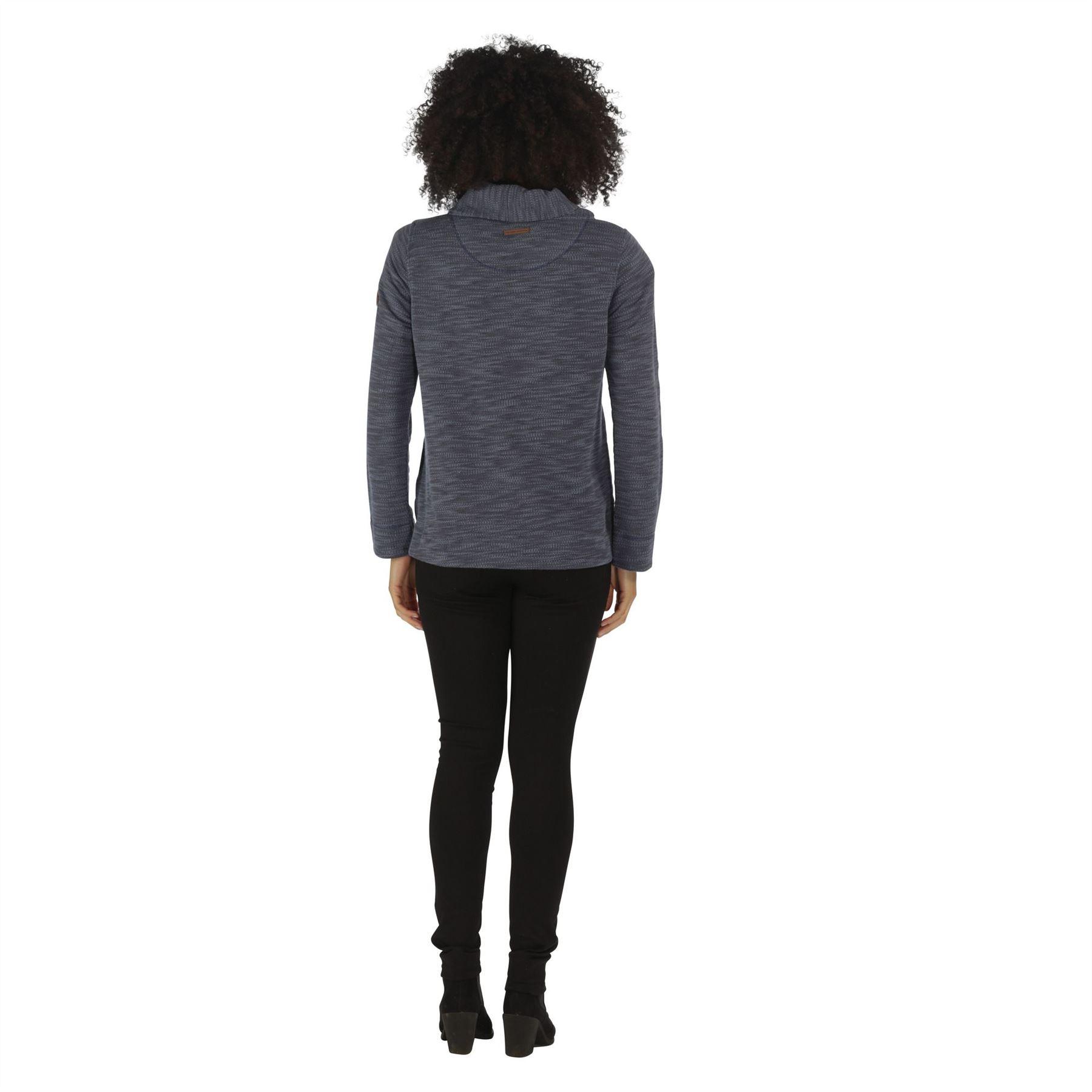 Regatta-Ceanna-Cowl-Neck-Soft-Fleece-Pull-Over-Jumper-Sweater-Top-RWA276 thumbnail 3