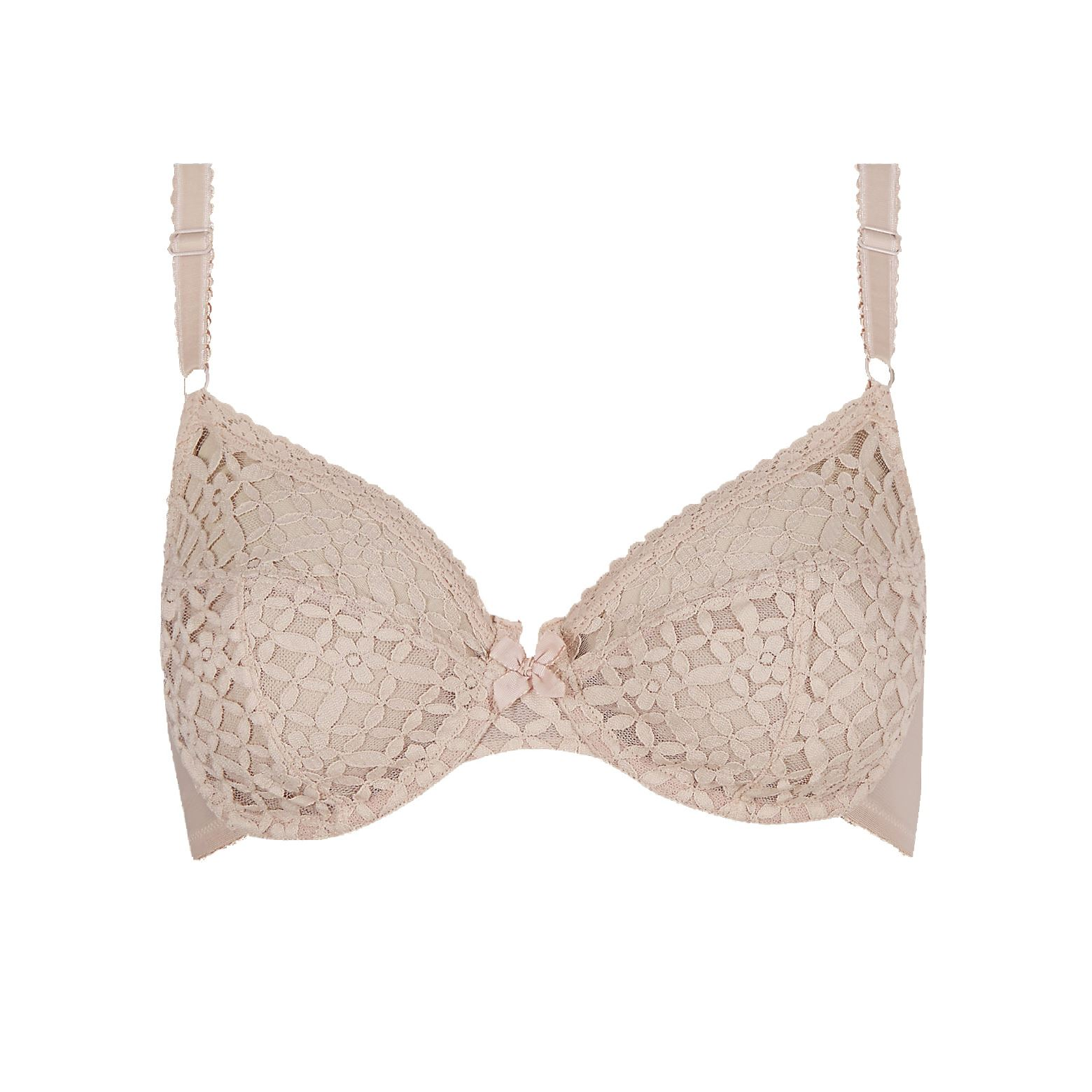 EX-M-amp-S-Marks-And-Spencer-Trellis-Lace-Underwired-Non-Padded-Full-Cup-Bra-RRP-14
