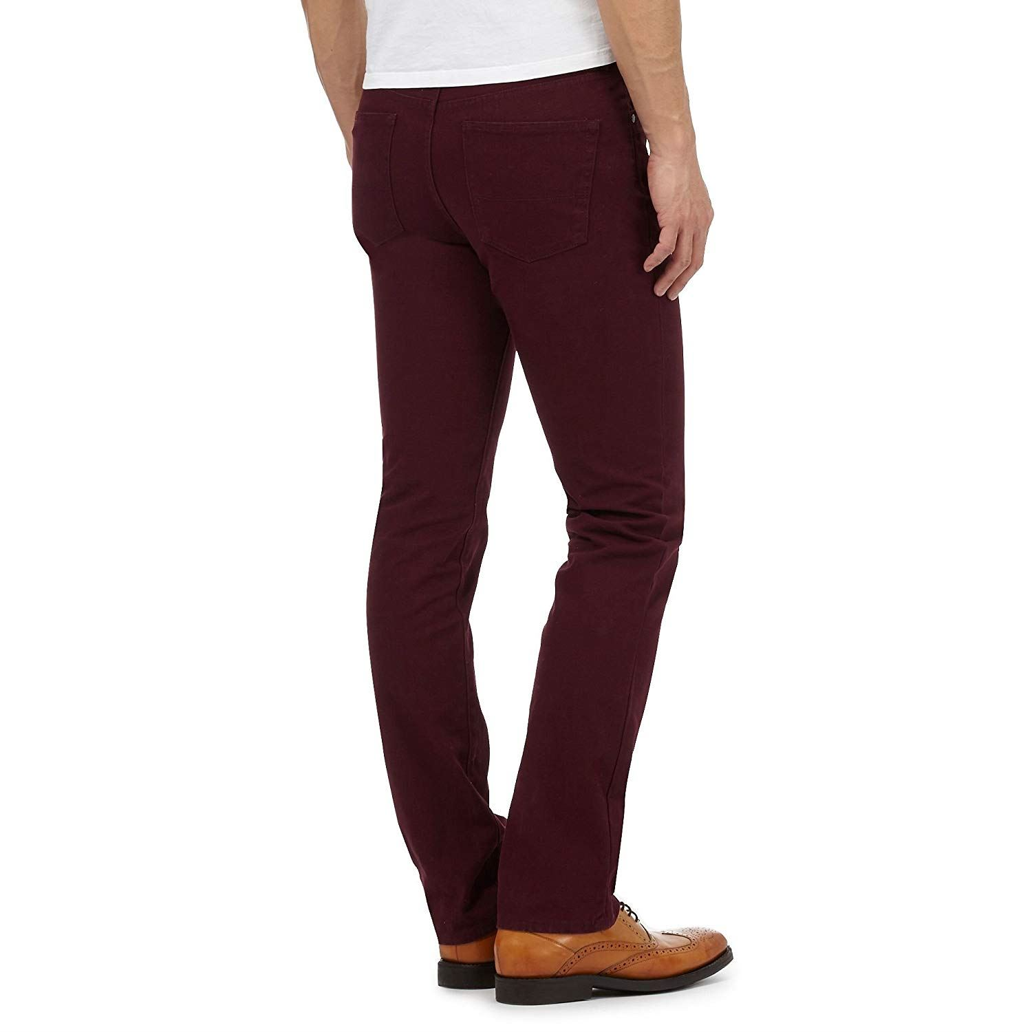 Hammond-amp-Co-By-Patrick-Grant-Twill-Trousers-Jeans thumbnail 9