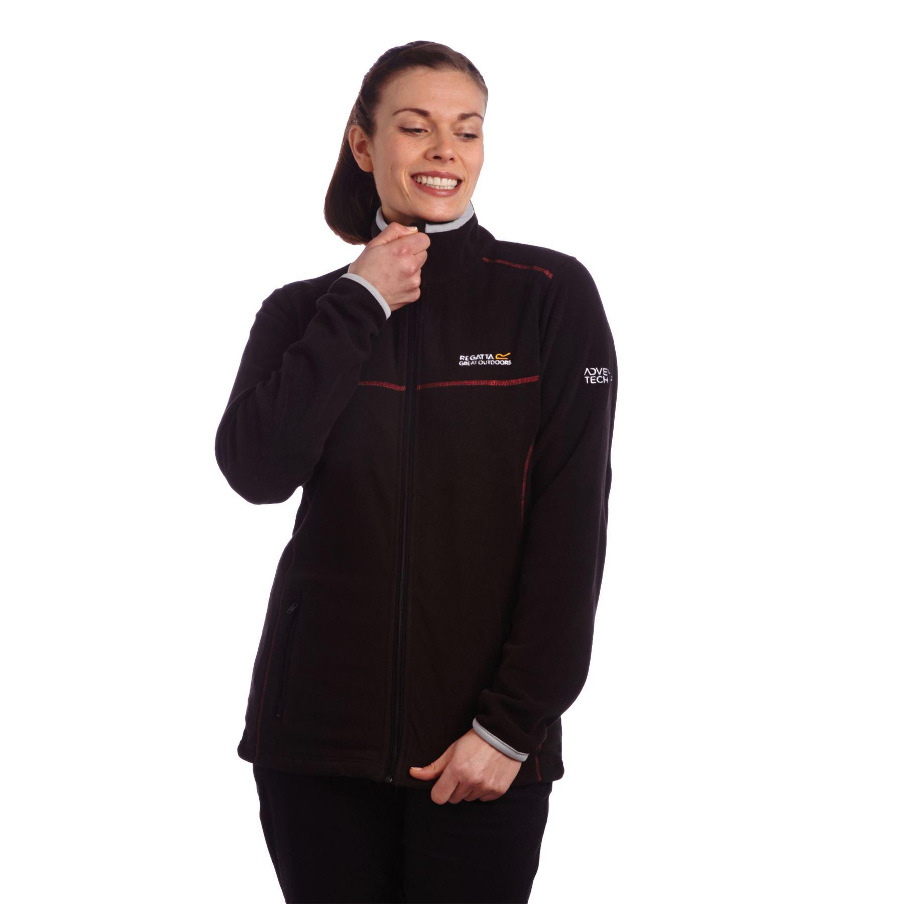 Regatta Womens//Ladies Jomor II Full Zip Symmetry Fleece Casual Jacket