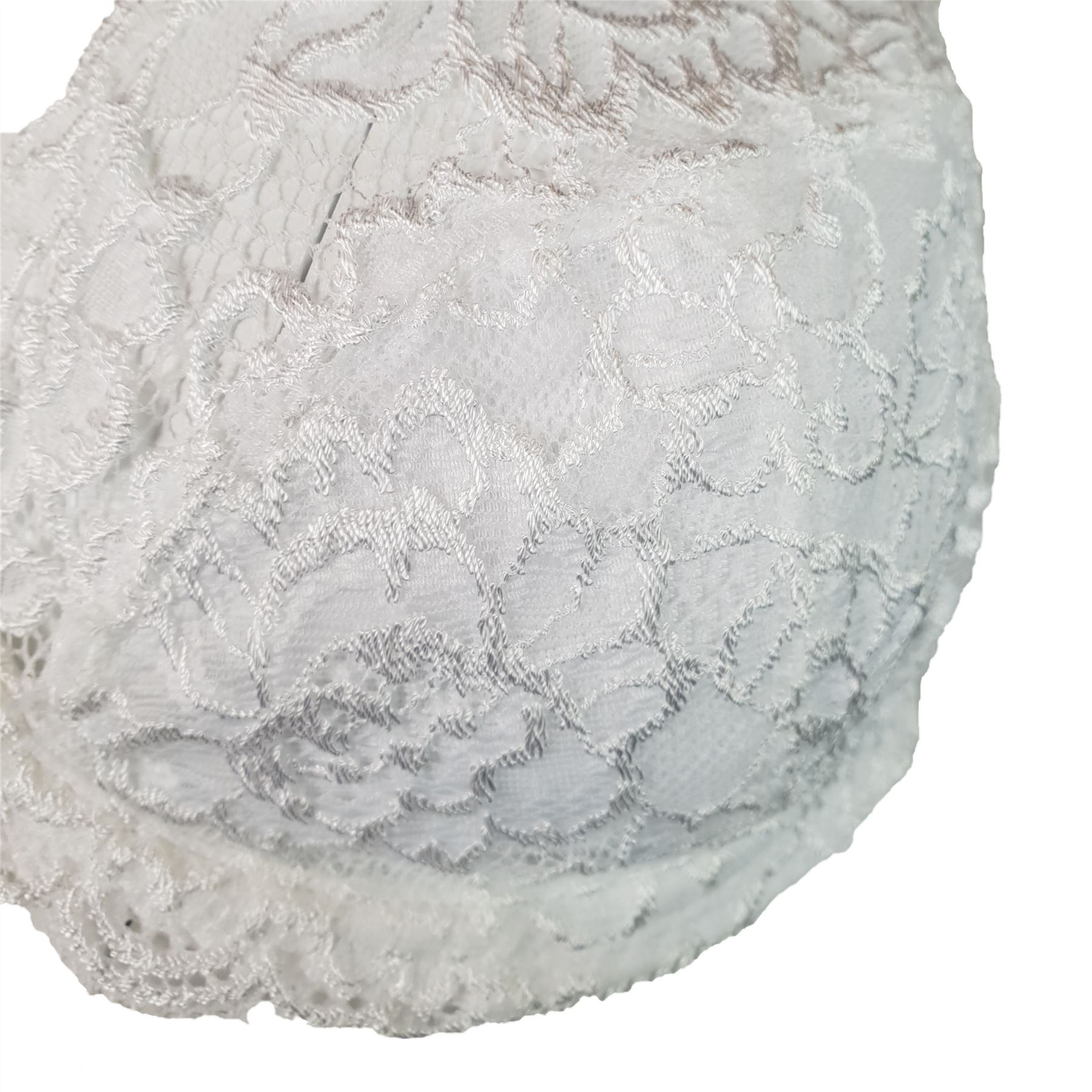 EX-M-amp-S-Marks-And-Spencer-Embroidered-White-Classic-Lace-Full-Cup-Bra thumbnail 4
