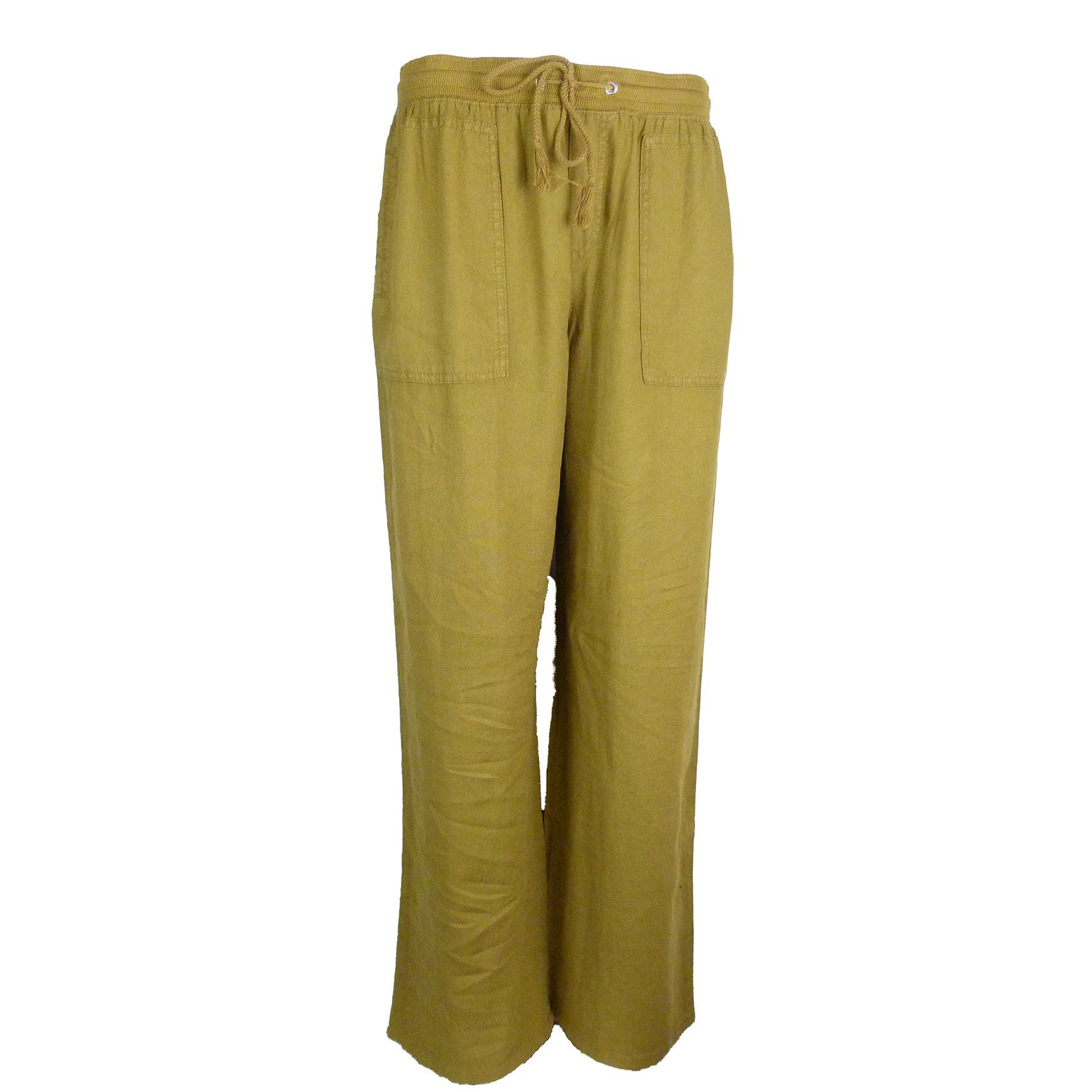 EX M/&s Marks and Spencer Collezione Gamba Larga 4 WAY STRETCH PANTALONI RRP £ 25.00