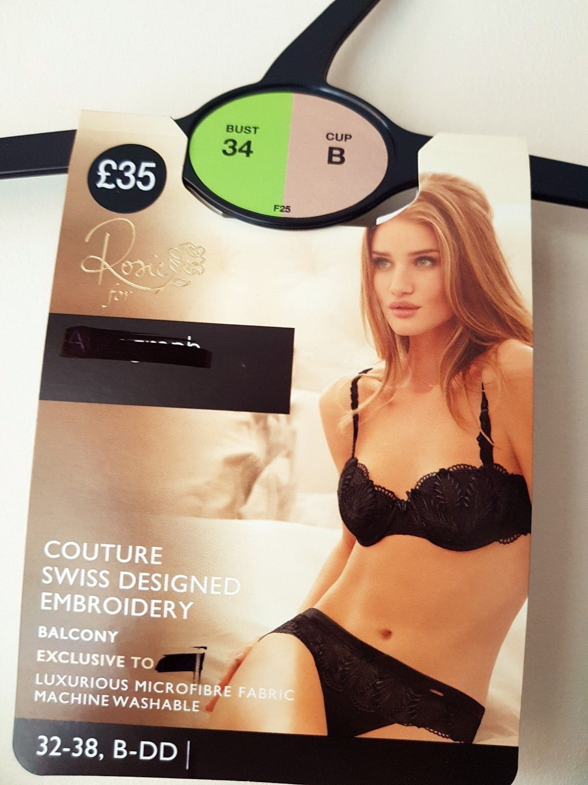 EX-M-amp-S-Marks-And-Spencer-Deco-Embroidered-Padded-B-DD-Balcony-Bra thumbnail 4