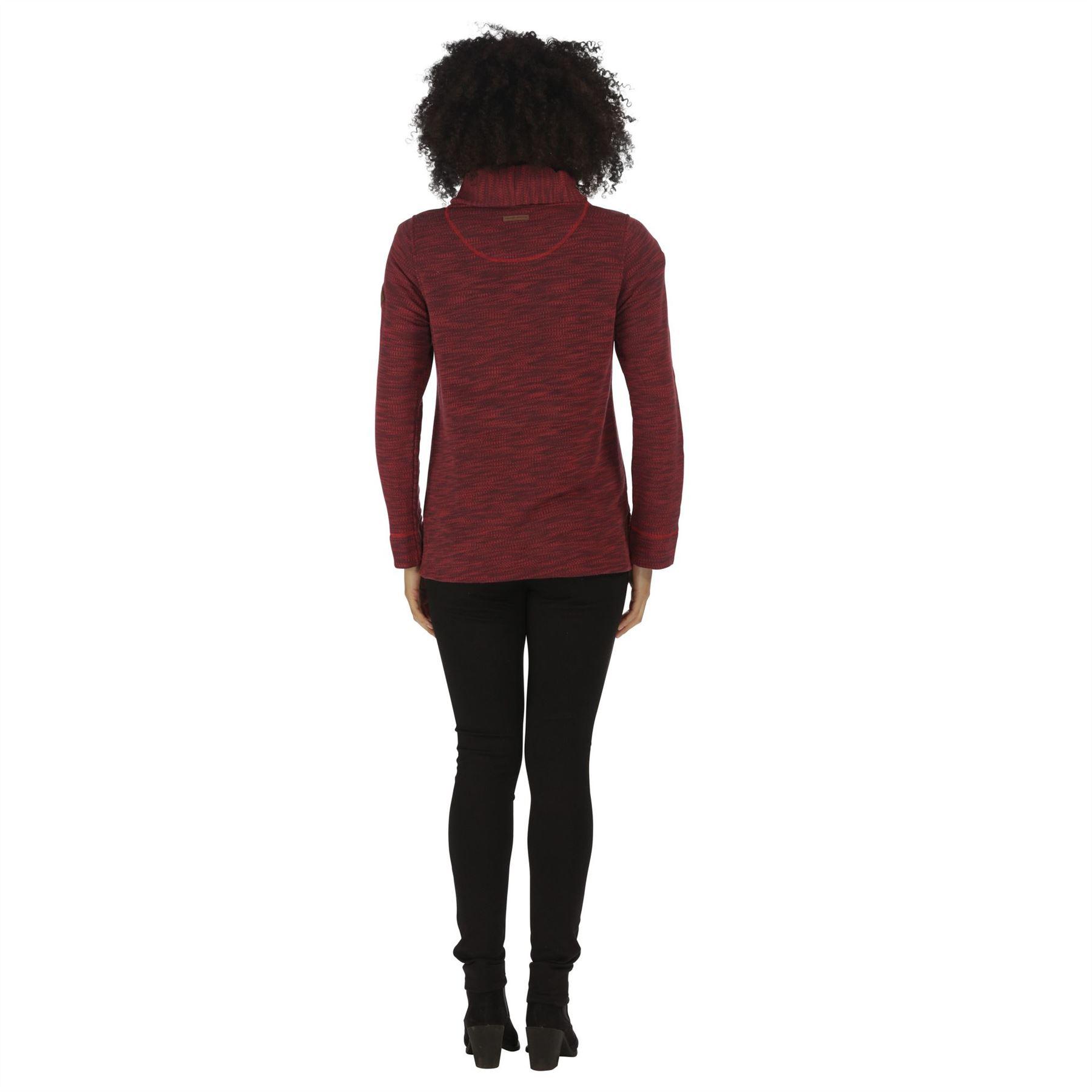 Regatta-Ceanna-Cowl-Neck-Soft-Fleece-Pull-Over-Jumper-Sweater-Top-RWA276 thumbnail 9