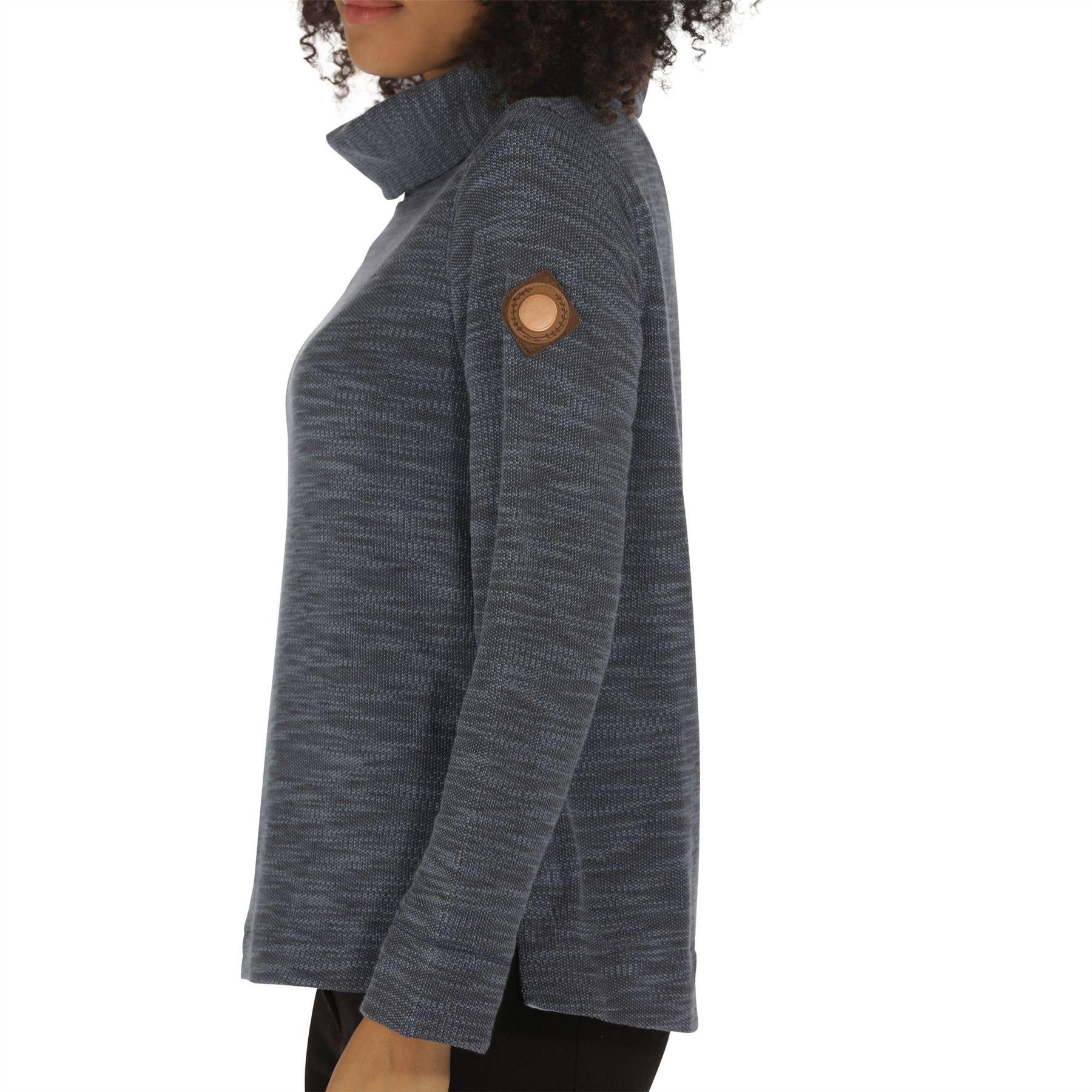 Regatta-Ceanna-Cowl-Neck-Soft-Fleece-Pull-Over-Jumper-Sweater-Top-RWA276 thumbnail 5
