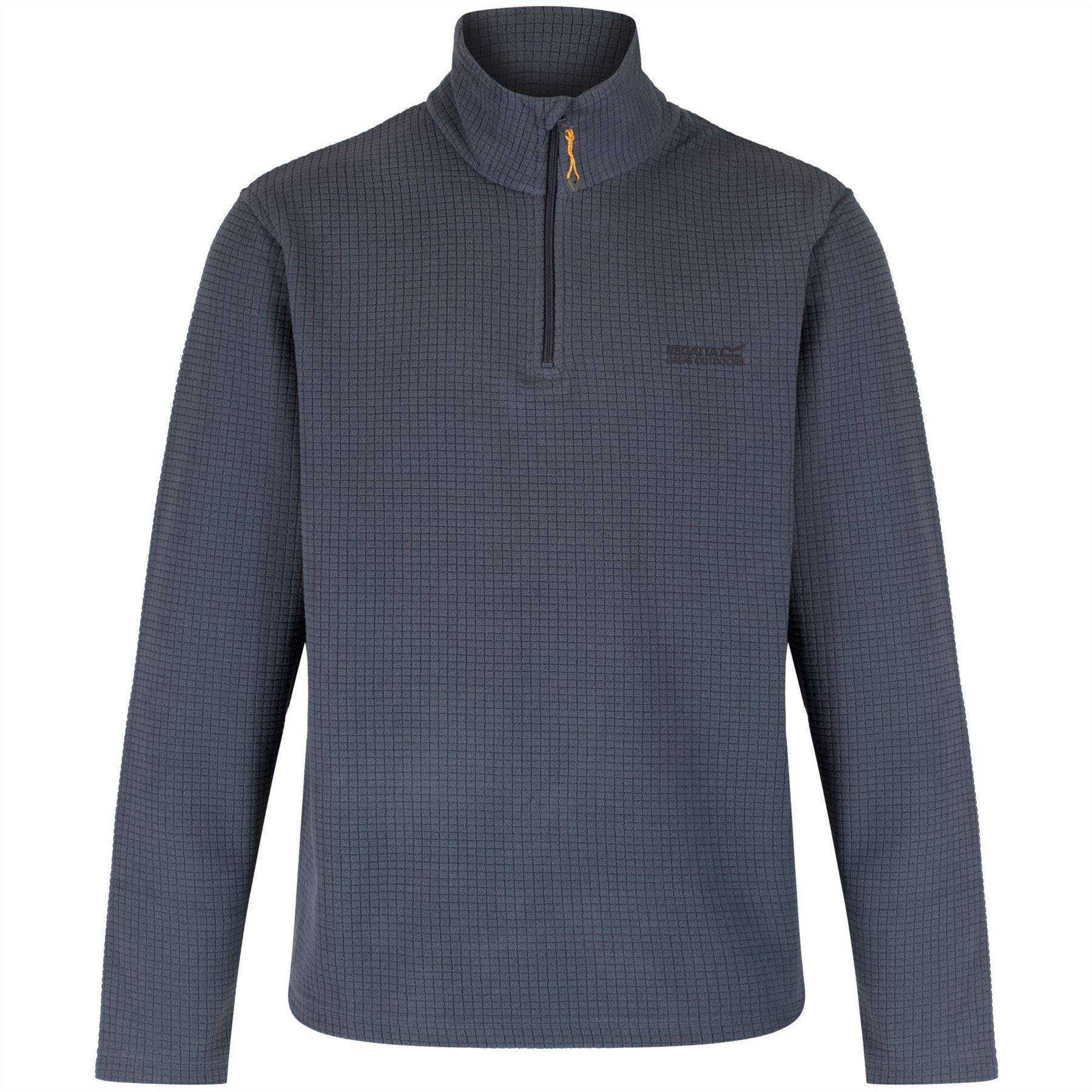 Regatta-Zona-para-Hombre-Chaqueta-Top-Half-Zip-Fleece-Pullover-RMA236
