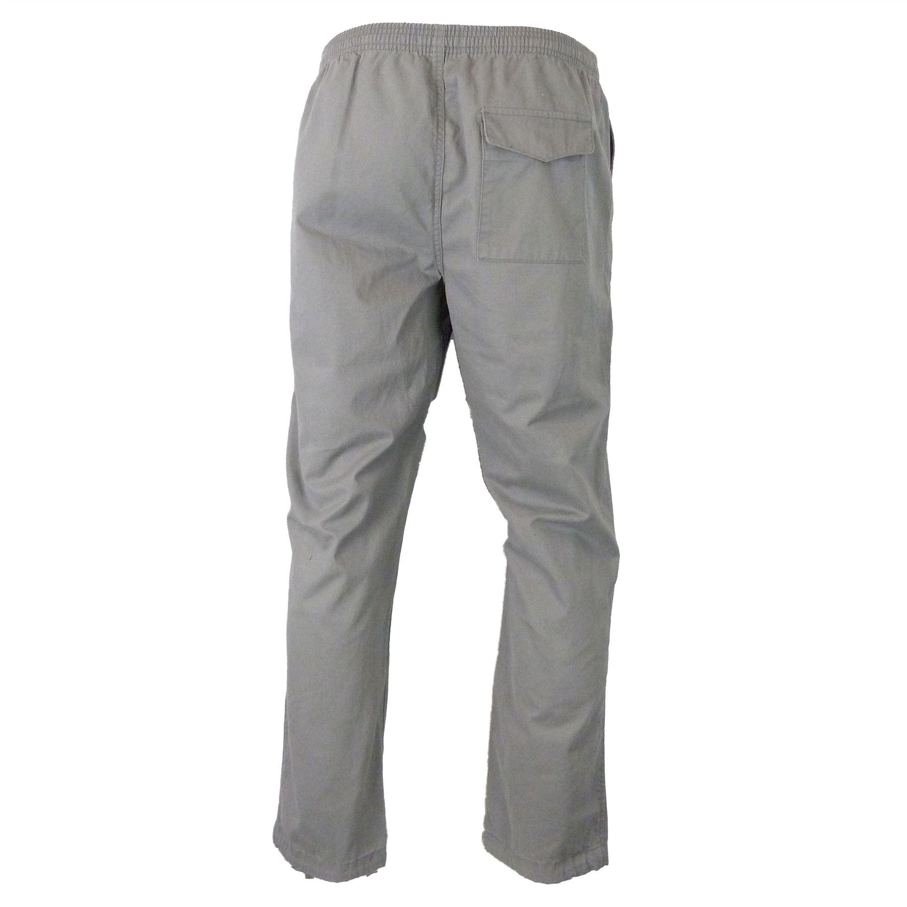 Ex-M-amp-S-Marks-and-Spencer-Coleccion-Regular-Fit-puro-algodon-Chinos-Pantalones miniatura 5