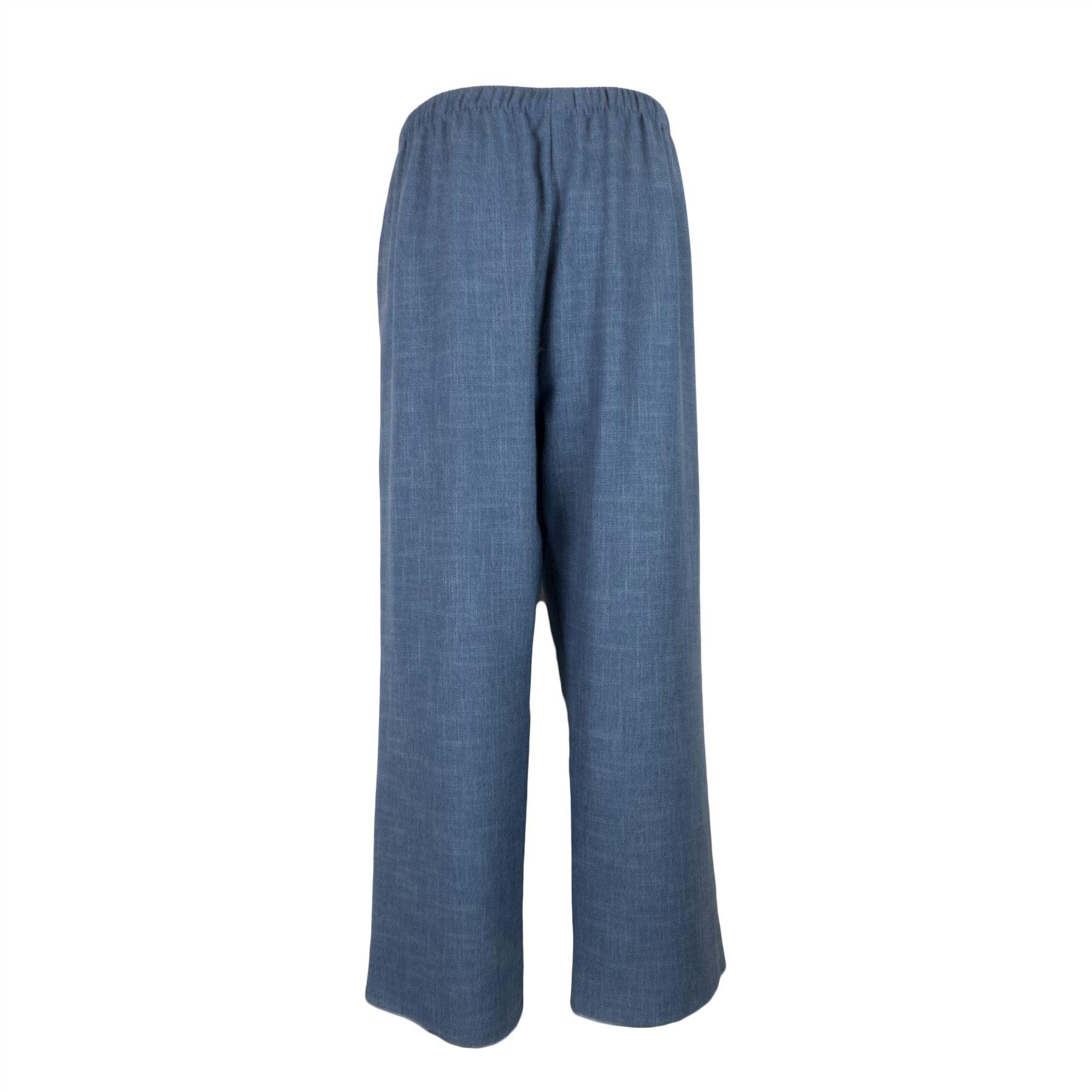 Saloos-Linen-Look-Trouser-Casual-or-Eveningwear-Elasticated-Waist thumbnail 11