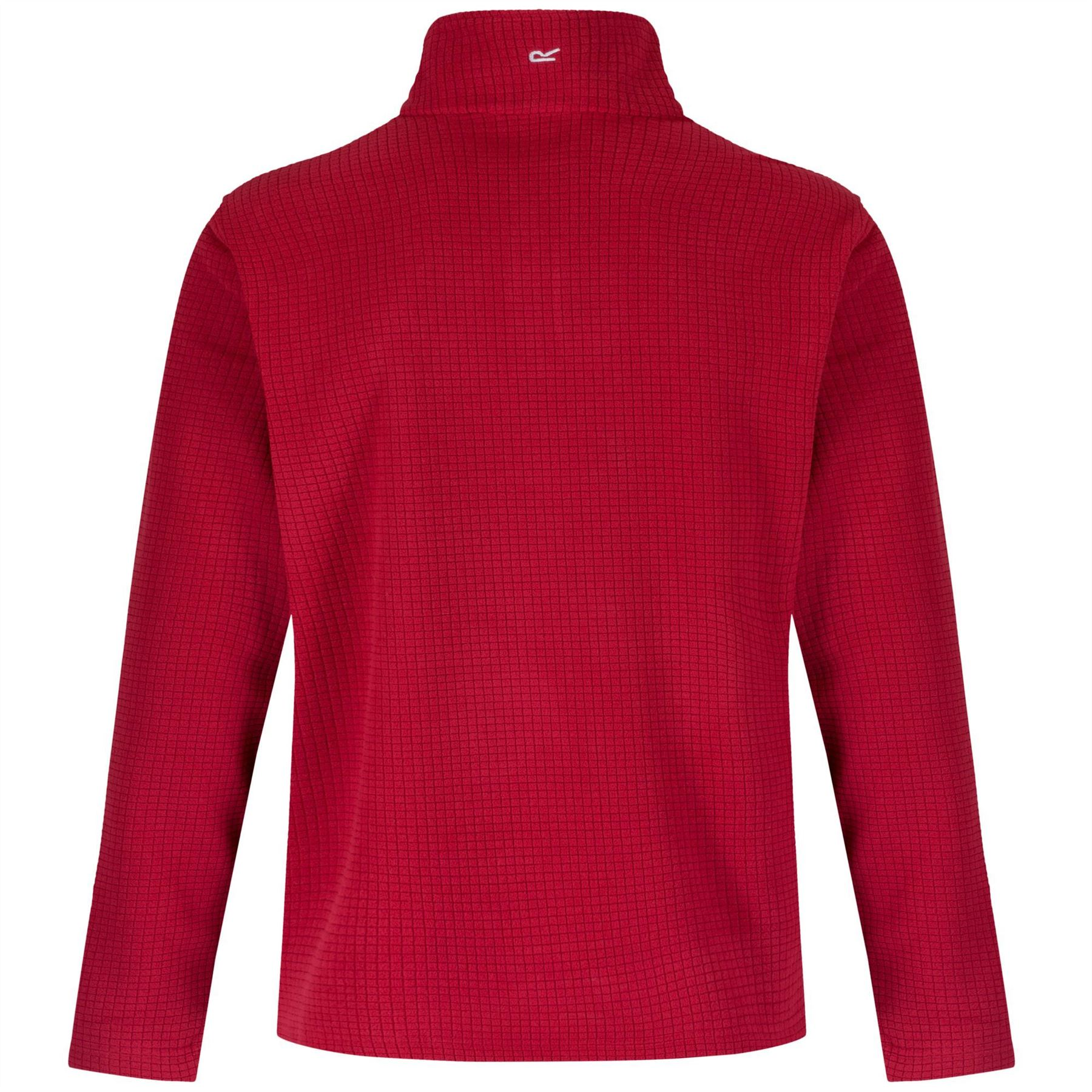 Regatta-Elgon-para-hombre-Half-Zip-Fleece-Pullover-Jumper-Top-RMA236 miniatura 11