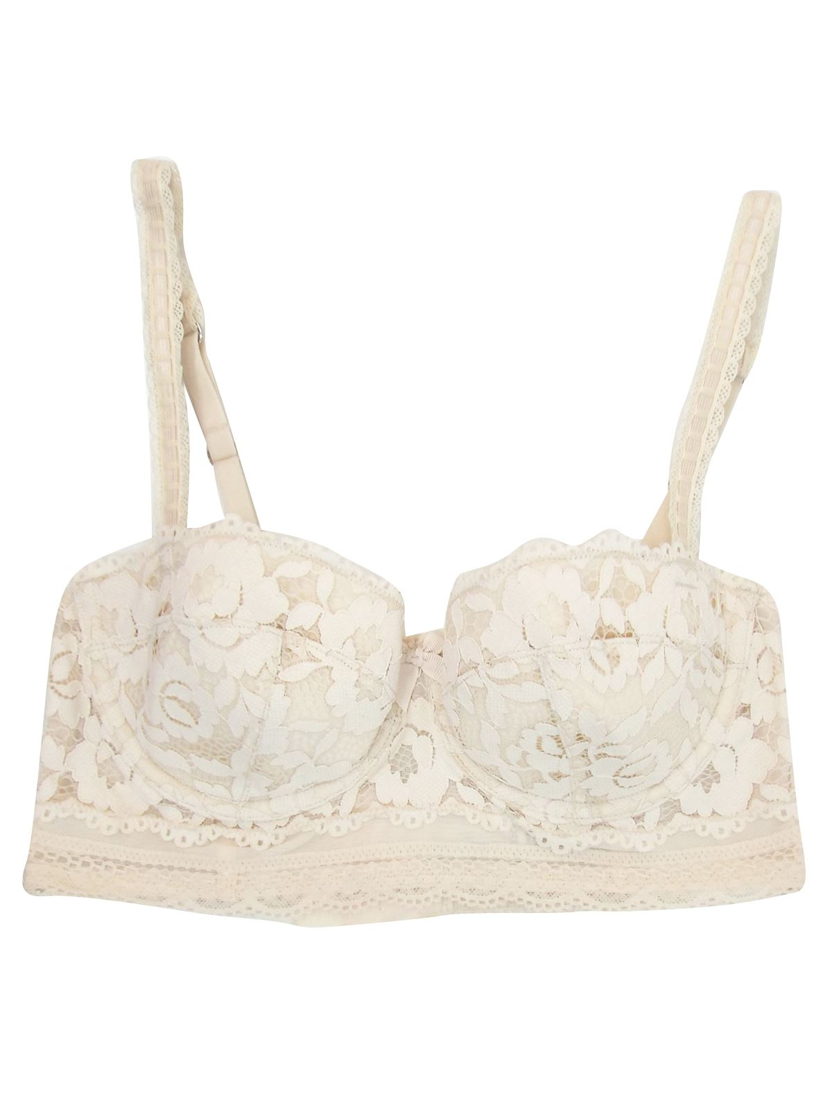Ex-M-amp-S-Marks-And-Spencer-Lightly-Padded-Lace-Longline-Balcony-Bra thumbnail 8