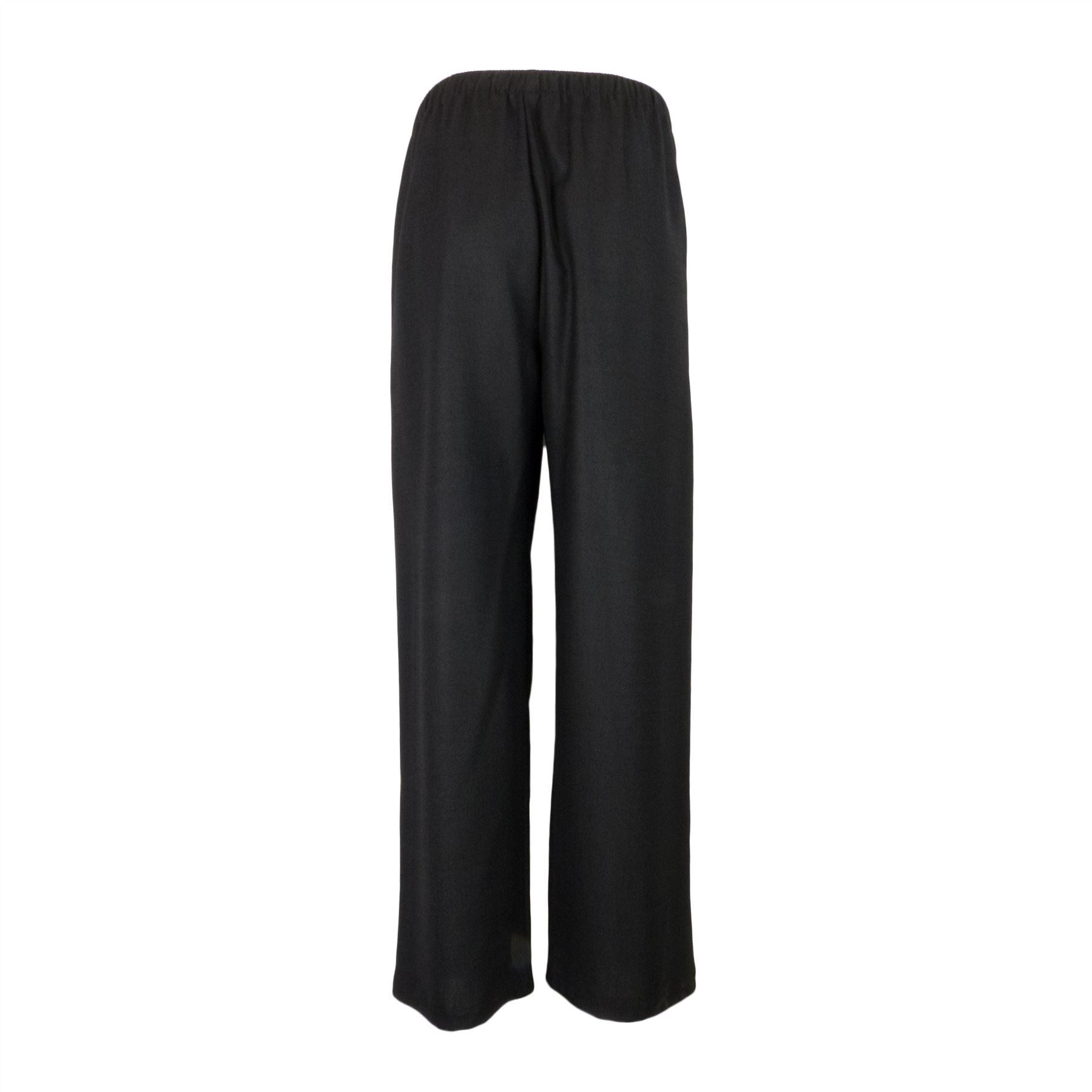 Saloos-Linen-Look-Trouser-Casual-or-Eveningwear-Elasticated-Waist thumbnail 7