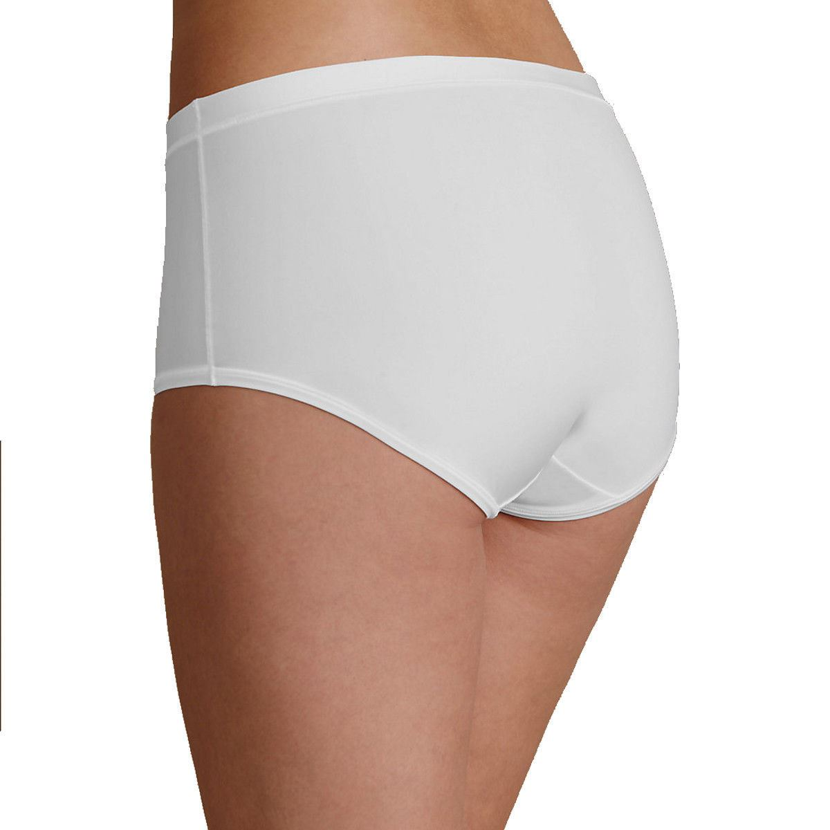 EX-M-amp-S-Ultimate-Comfort-Flexifit-4-Way-Stretch-Midi-Knickers-in-White thumbnail 10