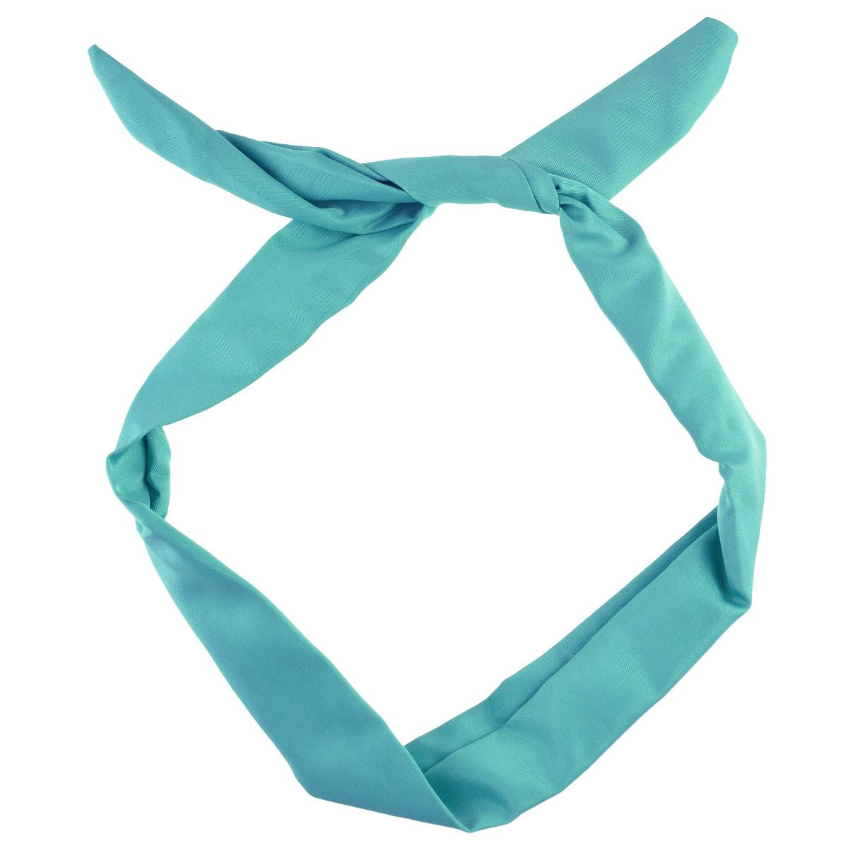 Women Plain Wire Headband Retro Band Wrap Hair Bendy Head Scarf | eBay