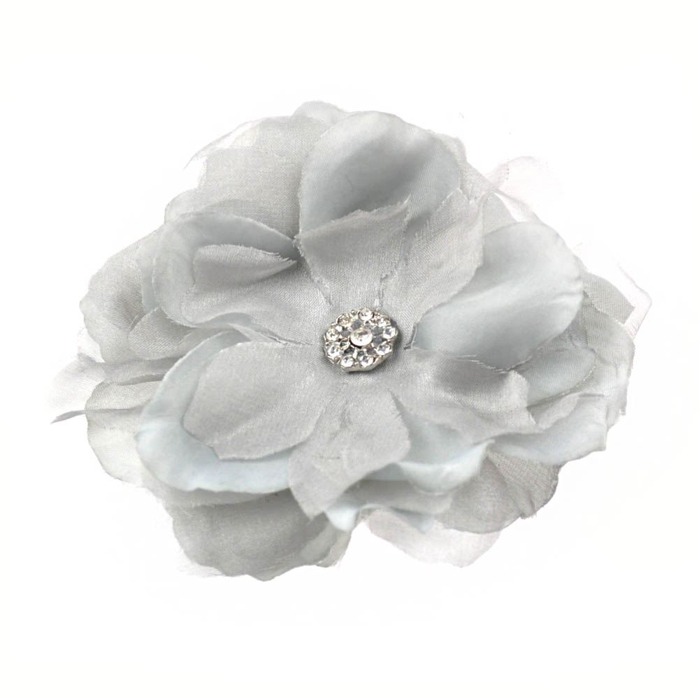Lady girls hair flower clips stones pearls flower brooches bridal lady girls hair flower clips stones pearls flower mightylinksfo