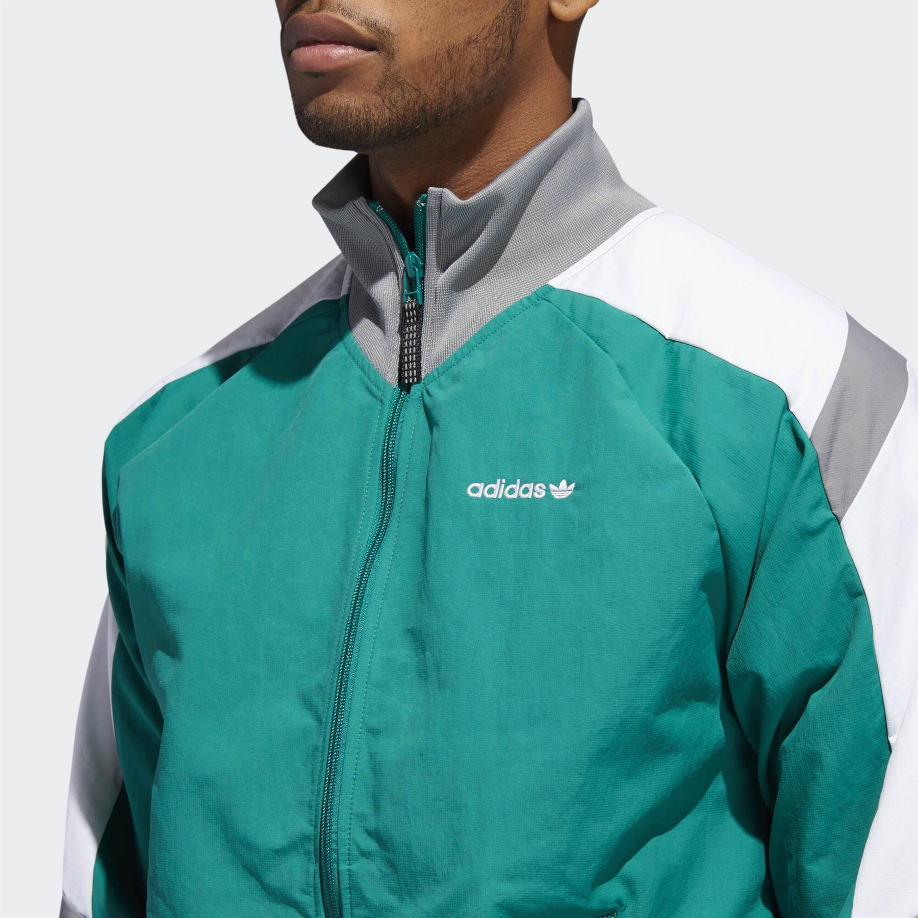 Adidas Originals EQT Block Windbreaker Jacke grün Track Top Retro 80s 90s NEU | eBay