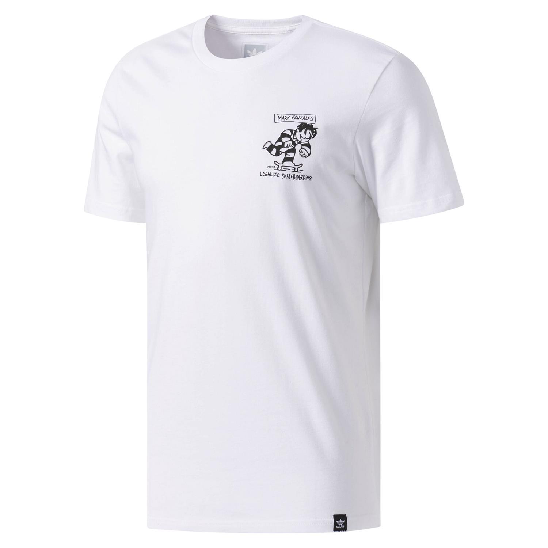 Détails sur Adidas Originals Meka le T shirt Skateboard Mark Gonzales Tops T shirt à encolure ras du cou NEUF afficher le titre d'origine