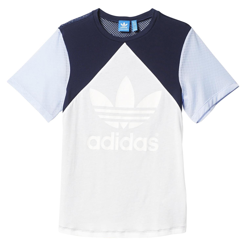 Adidas Originals MUJER Helsinki Auténtico Camiseta Trébol