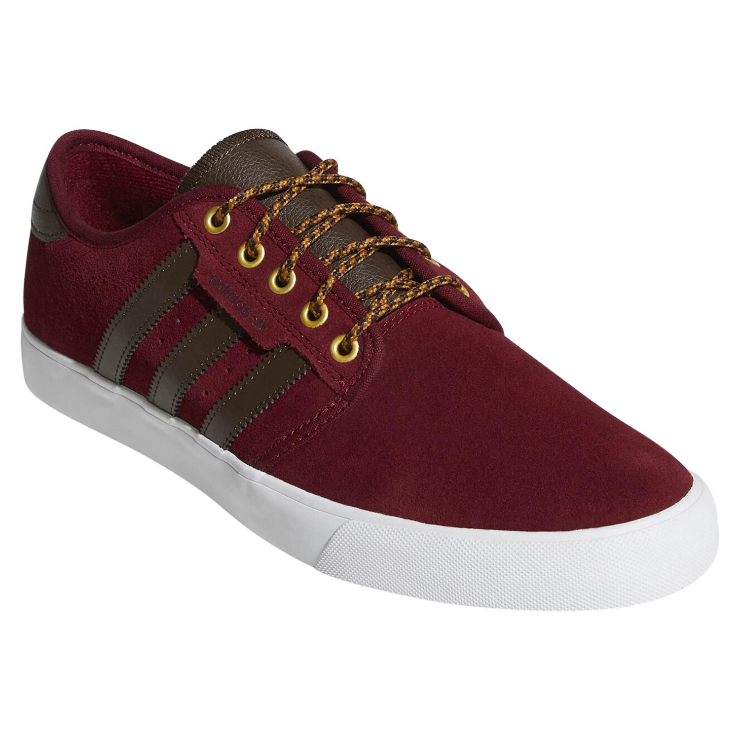 Details about adidas ORIGINALS SEELEY TRAINERS BURGUNDY SKATEBOARDING SHOES SNEAKERS KICKS NEW