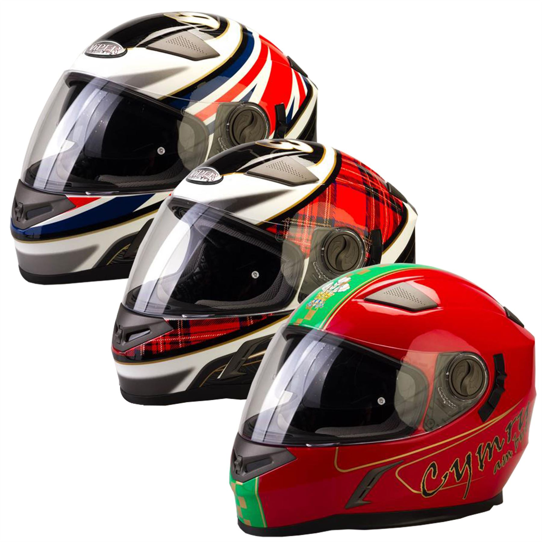 f8ea17b0 Details about Viper RSV9 Motorbike Ful Face Helmet Motorcycle Moped With  Retractable Sun visor