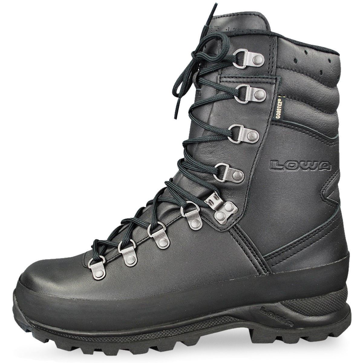 5bf1b2b4ae2 Details about Lowa COMBAT GTX Waterproof Gore-Tex Tactical Boots Black