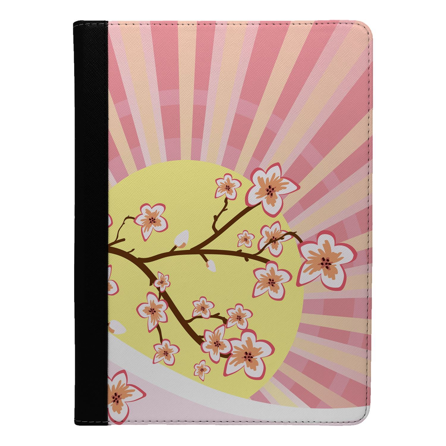 Japanese-Landscape-Print-Flip-Case-Cover-For-Apple-iPad-S8727